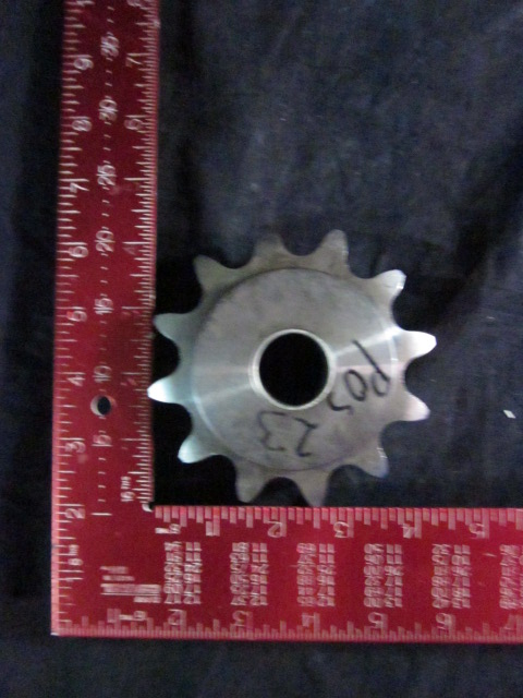 Pulley Andritz Separation 477735 SPROCKET 12 tooth SS  PLAT SHAFT