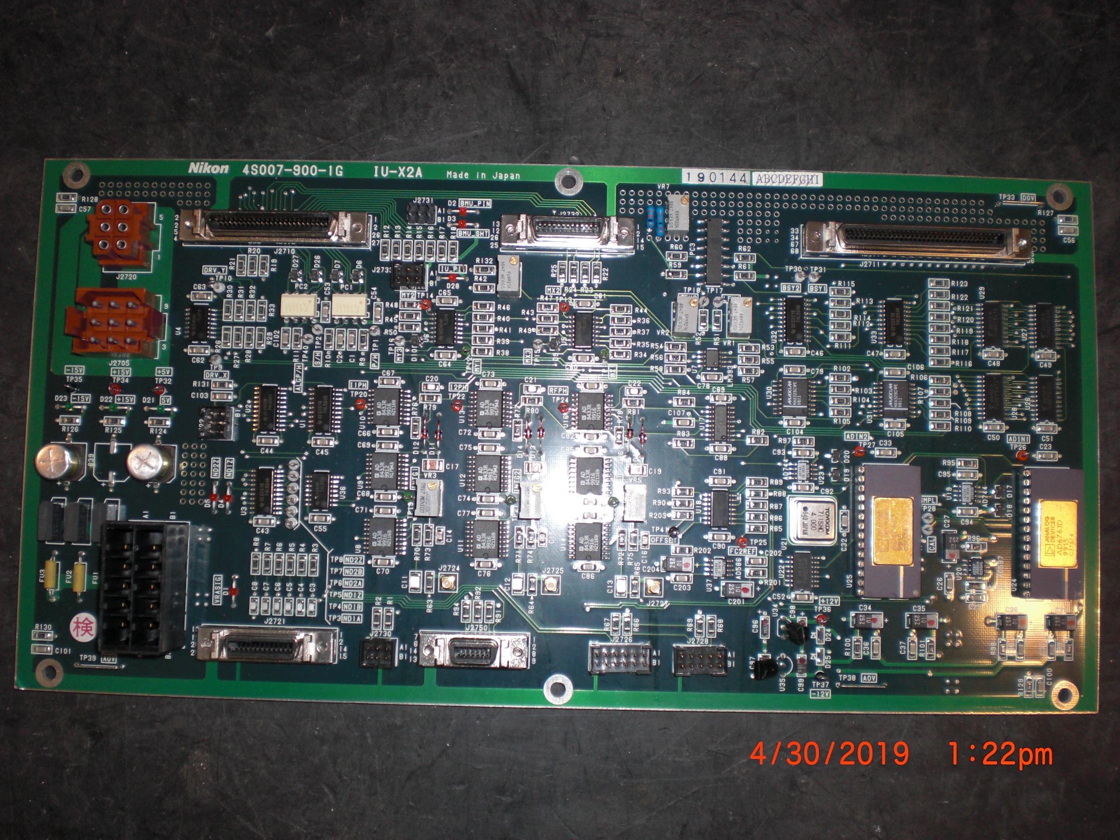 PCB NIKON 4S007-900-1 IU-X2A Step and Repeat