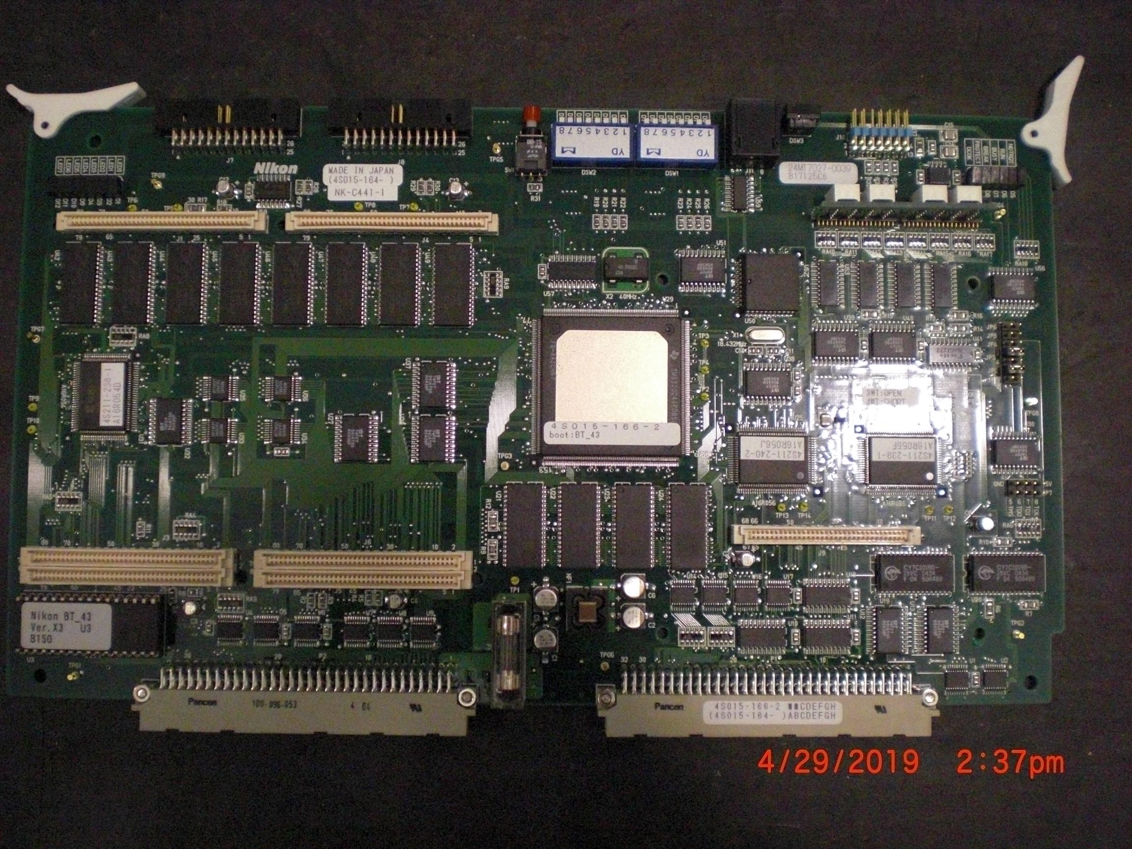 PCB NIKON 4S015-164 NK-C441-1 Communications Control