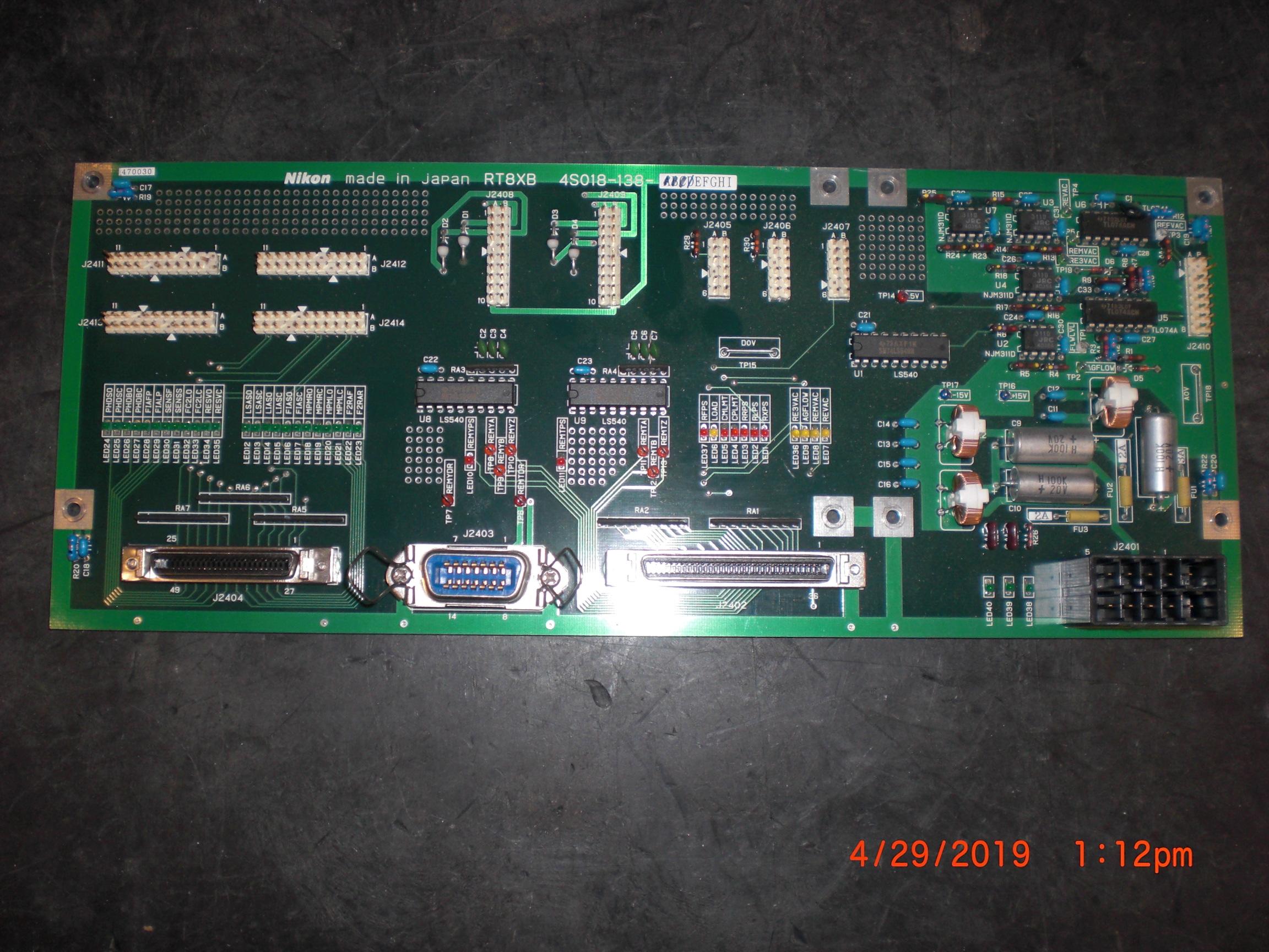 PCB NIKON 4S018-138-E RT8XB