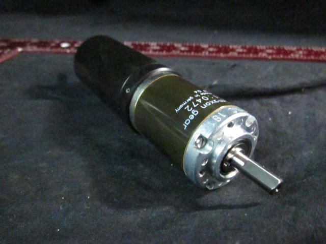 Motor  DC WITH GEARBOX, Maxon 137524 and 110472
