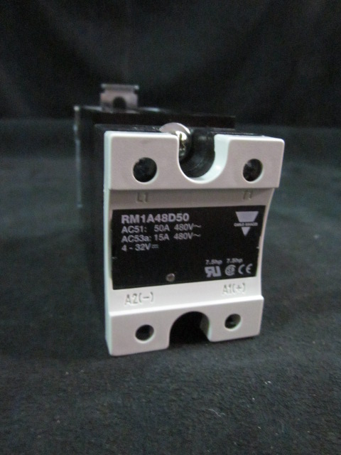 Relay SOLID STATE RELAY, DIN MOUNT, 530VAC, 32VDC, 50A CARLO GAVAZZI RM1A48D50 REHM THERMAL 52200127
