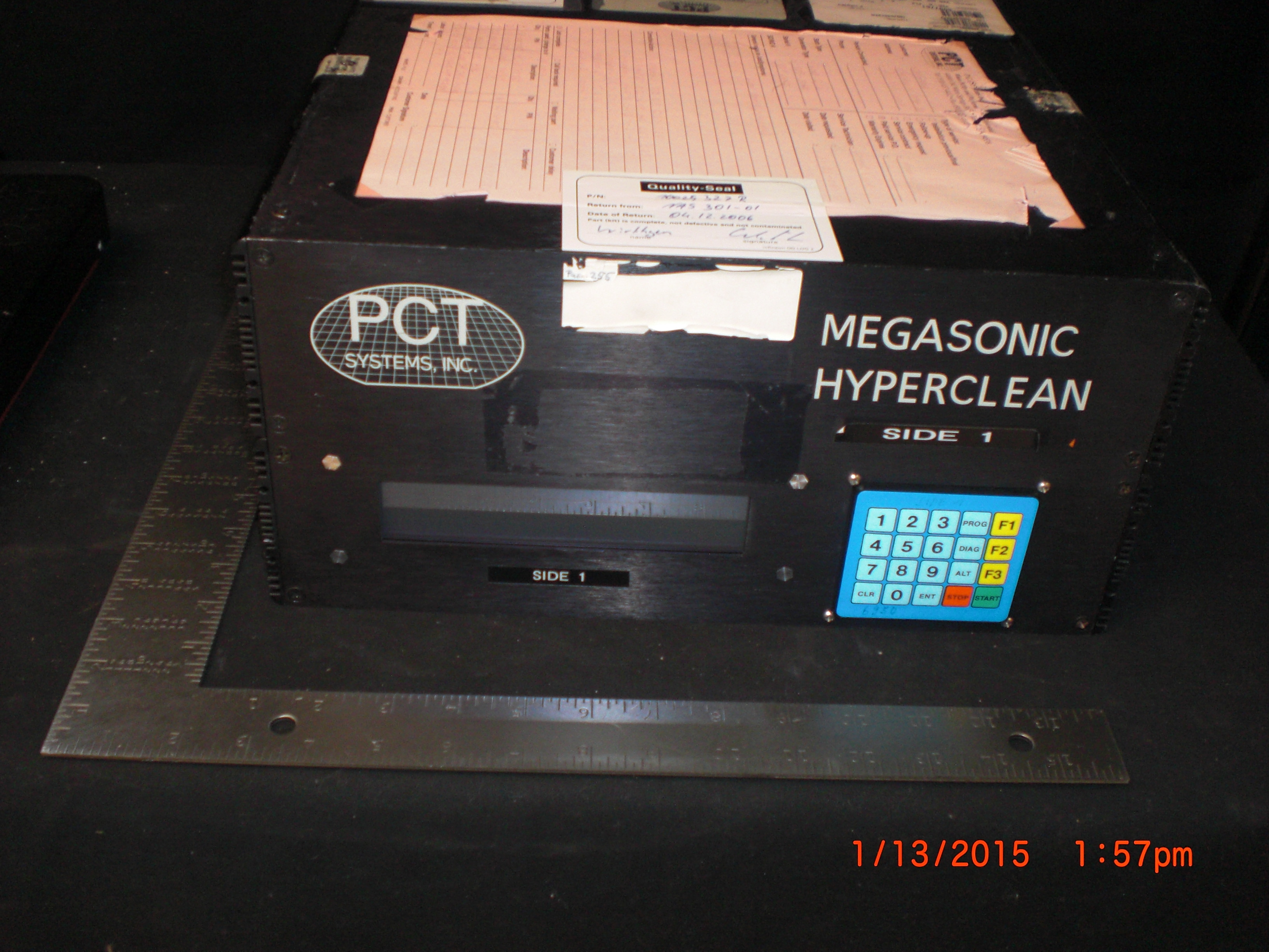 Generator Megasonic PCT SYSTEMS 6000 DE Hyperclean Steag UNTESTED