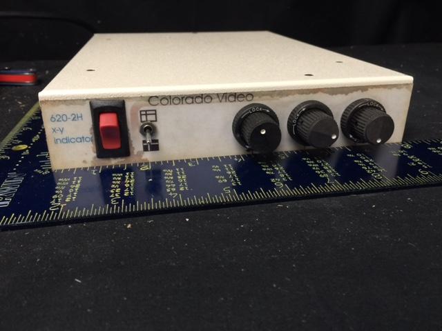 Computer Accessory COLORADO VIDEO 620-2H XY VIDEO INDICATOR (NO POWER CORD)