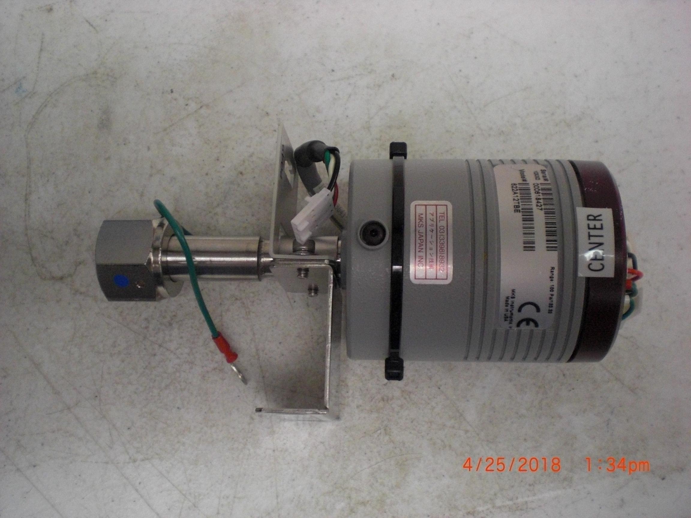 Baratron MKS  622A12TBE Type 622 Pressure Transducer