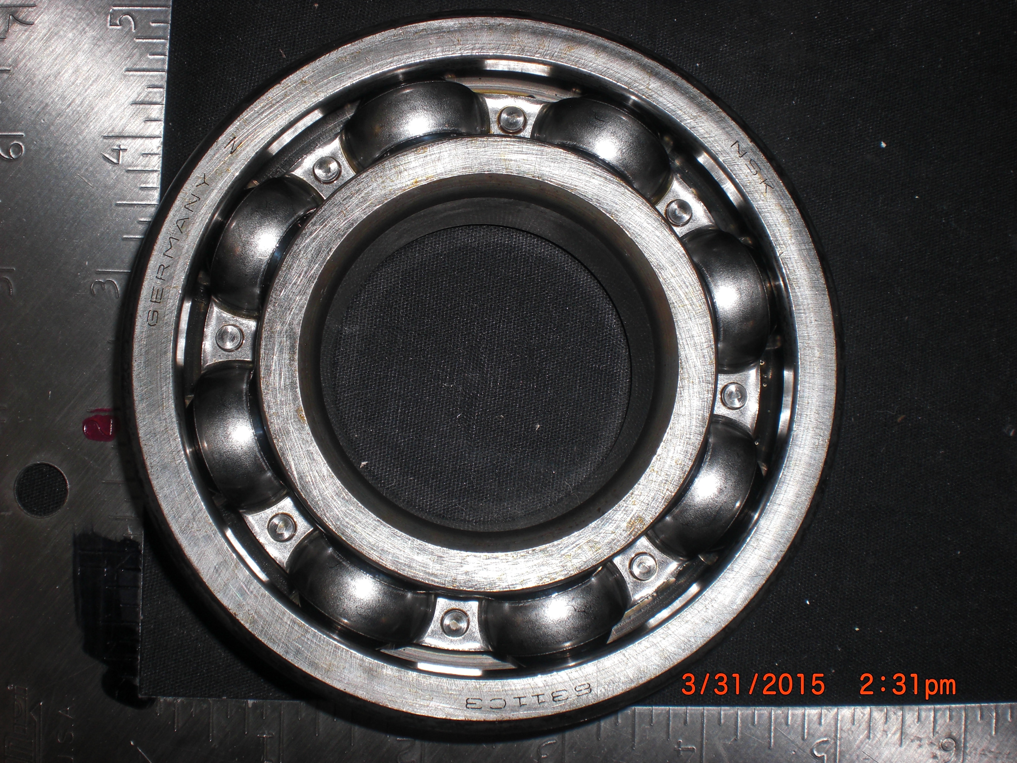Bearing Deep Groove Ball ,P-S,IWW,PUMP; D602GZ070 NSK 6311C3