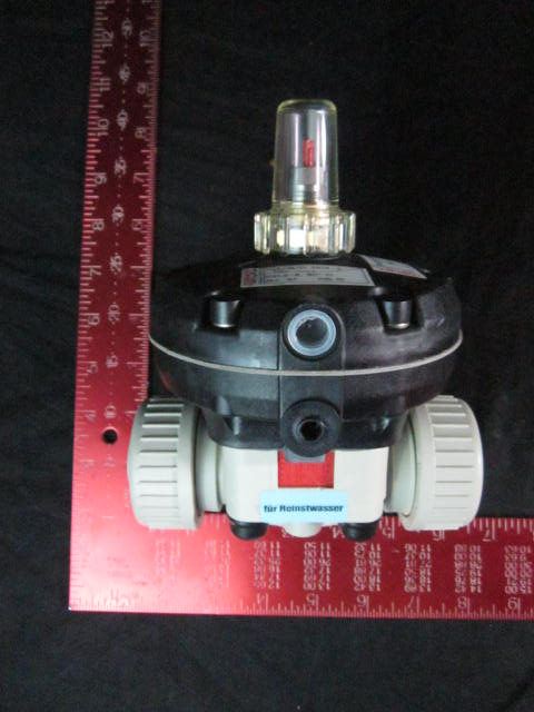 Valve Diaphragm Pneumatic DN 15 PP EPDM  GEMU 667/15/D-7514-2-1165-0104
