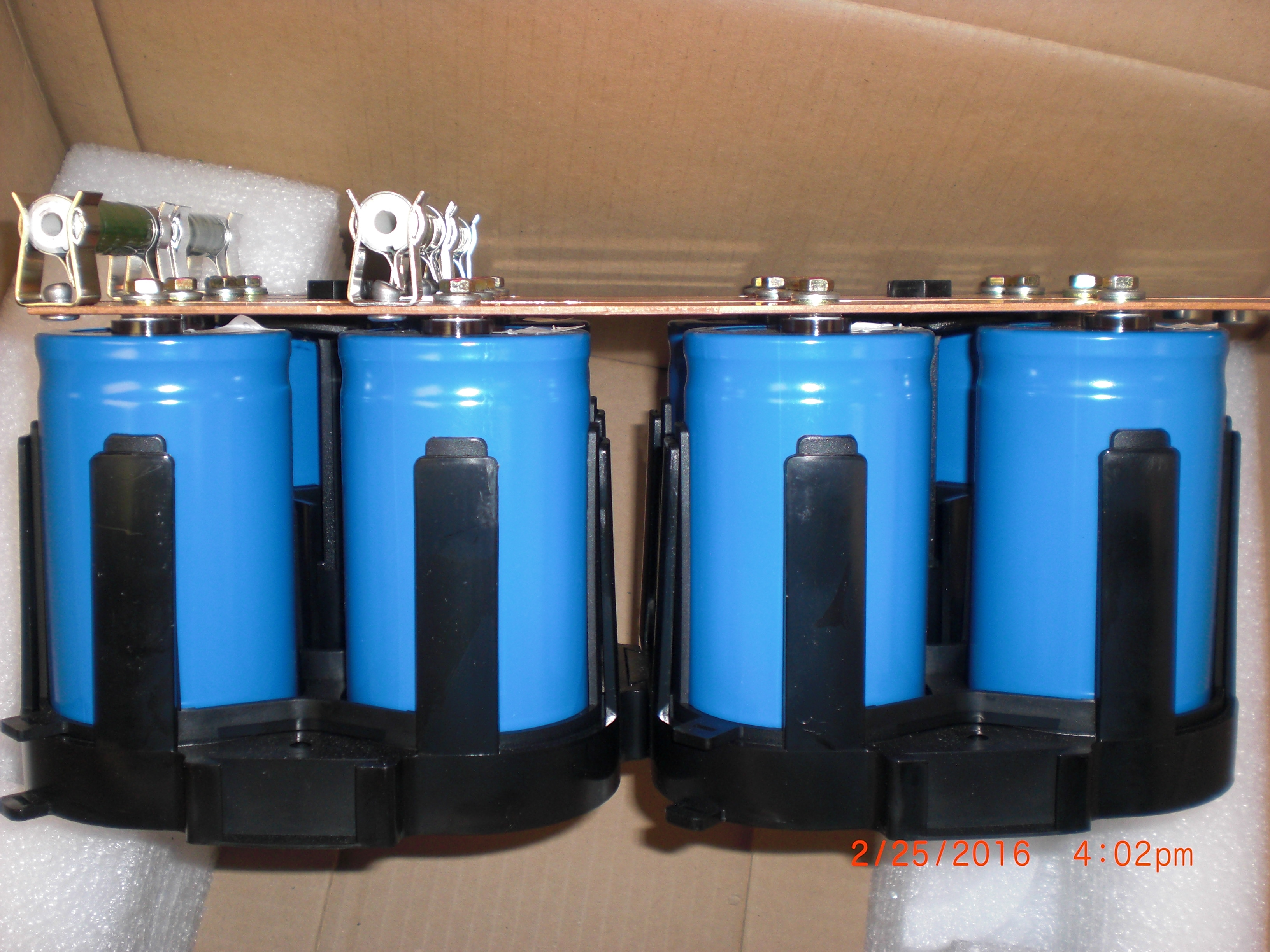 Battery DC Capacitor Bank MGE UPS Systems 6740732SE