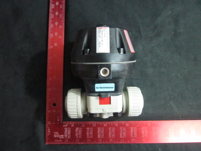 Valve Diaphragm pneumatic   PP , DN 20  GEMU 690-20-D-7514-1-0104