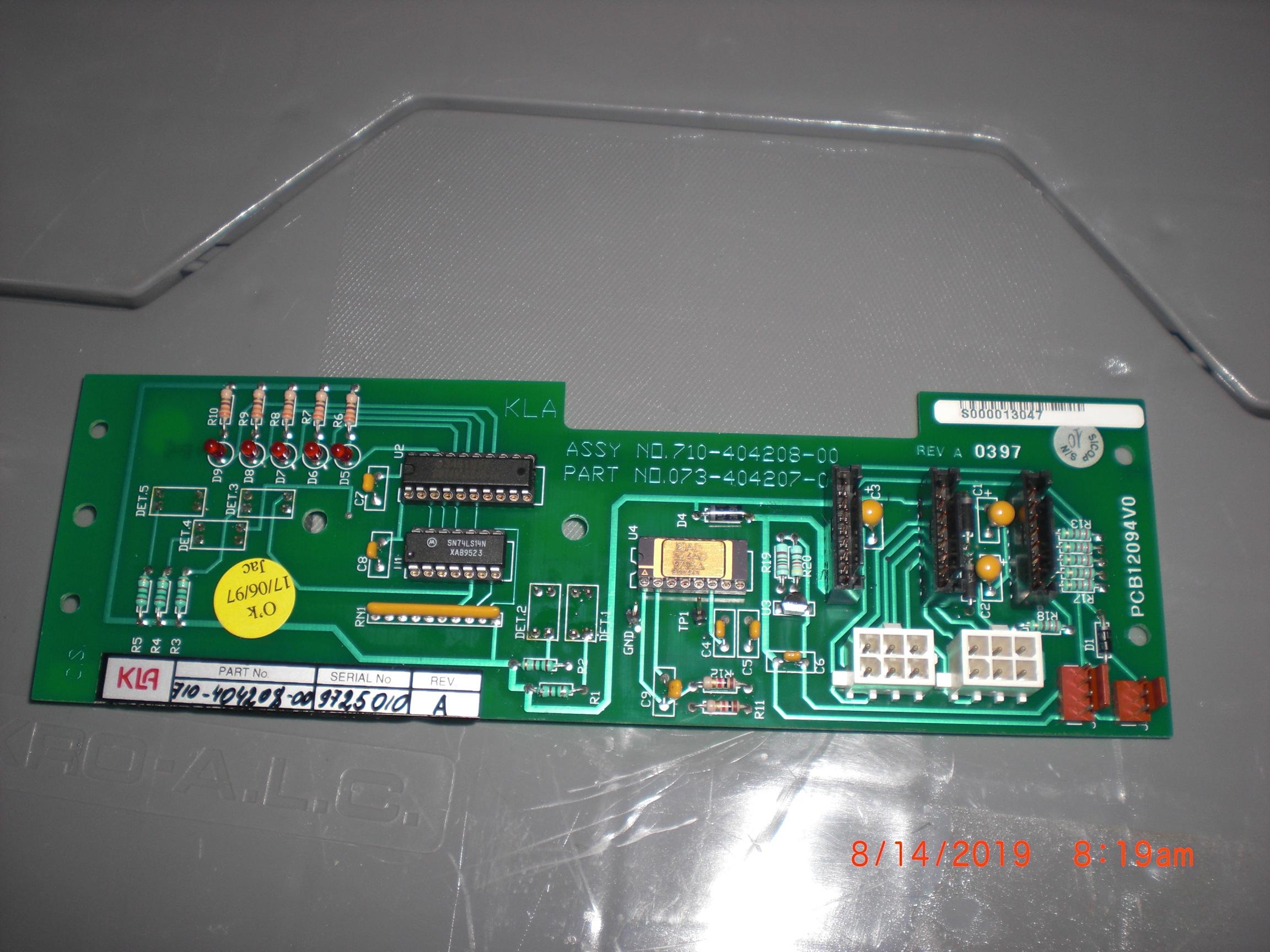 PCB KLA / TENCOR 710-404208-00 Overlay Arm INTERCONNECT  5200