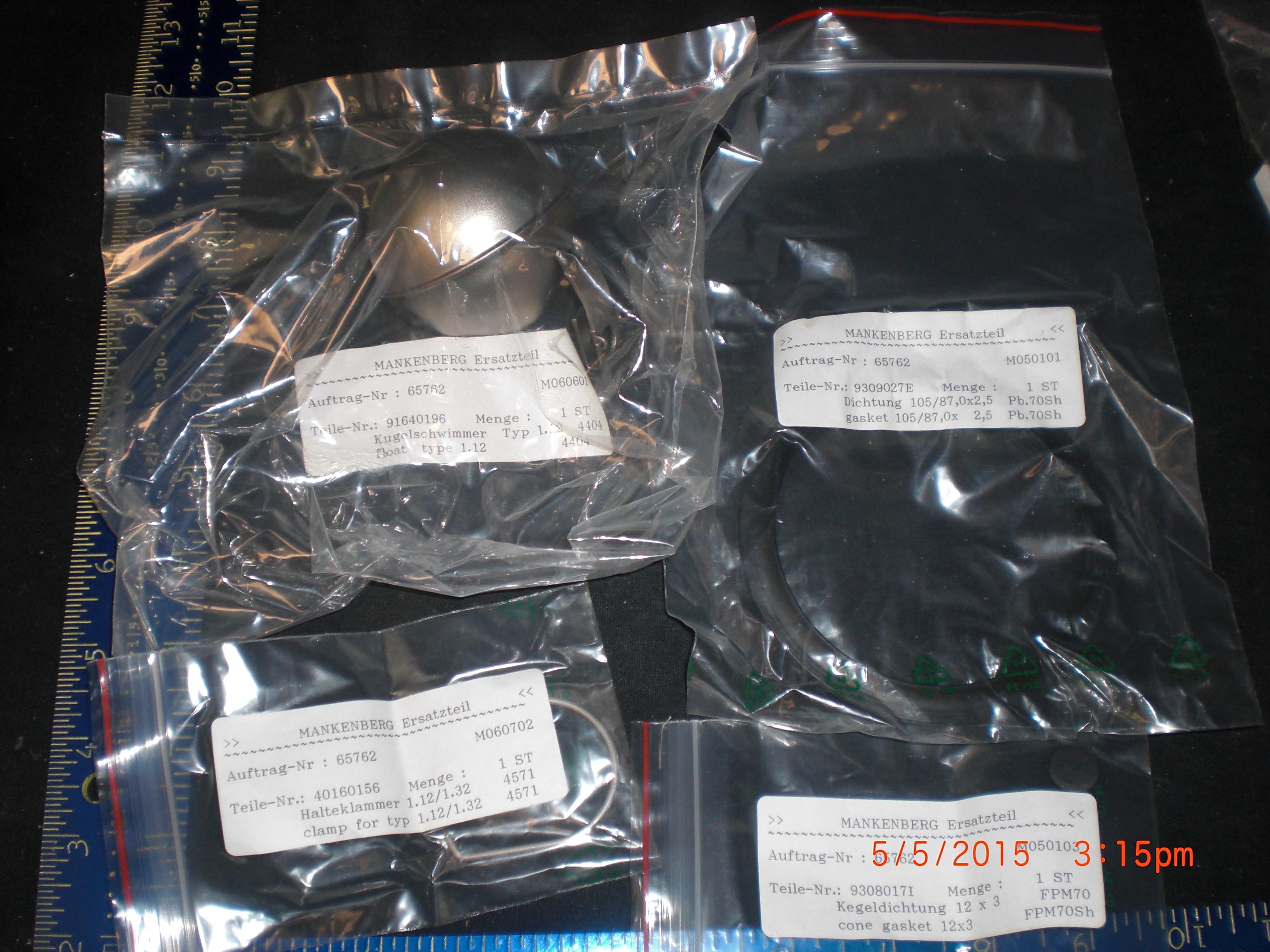 Kit PM SS Float Level BALL  Hager & Elsässer 7145001TWS