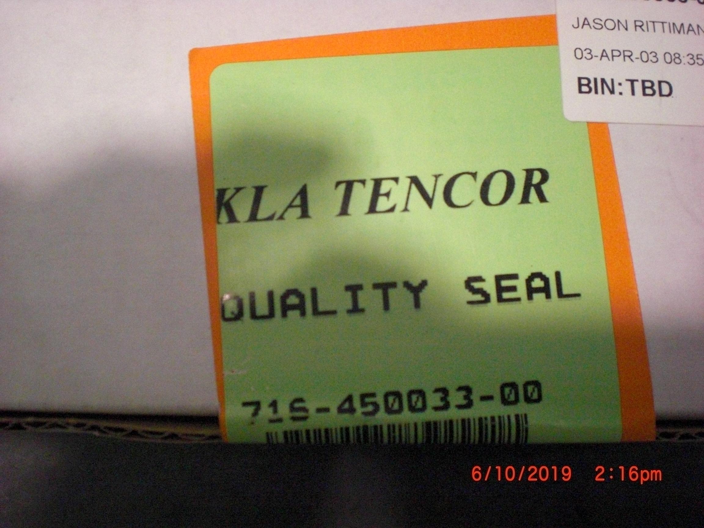 OEM Part KLA / TENCOR 716-450033-00 shutter Assy  5100
