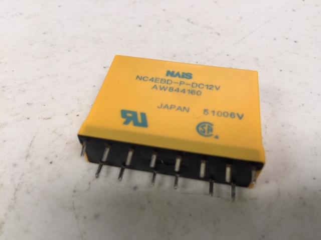 Relay 5A 12VDC 4PDT AMB SEAL M SYSTEM PANASONIC 769-NC4EBD-P-DC12V