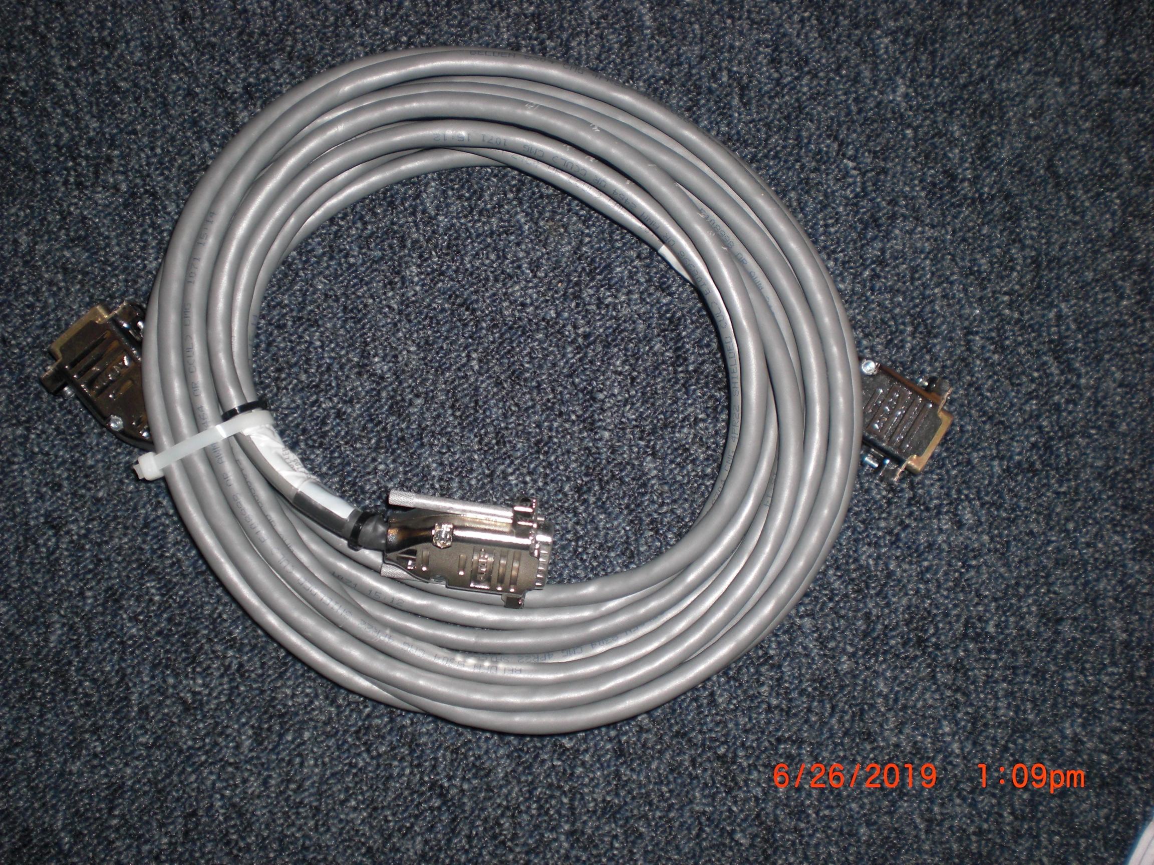 Cable KLA / TENCOR 810-12705-001 controller to x-y encoder 8100 laser stage