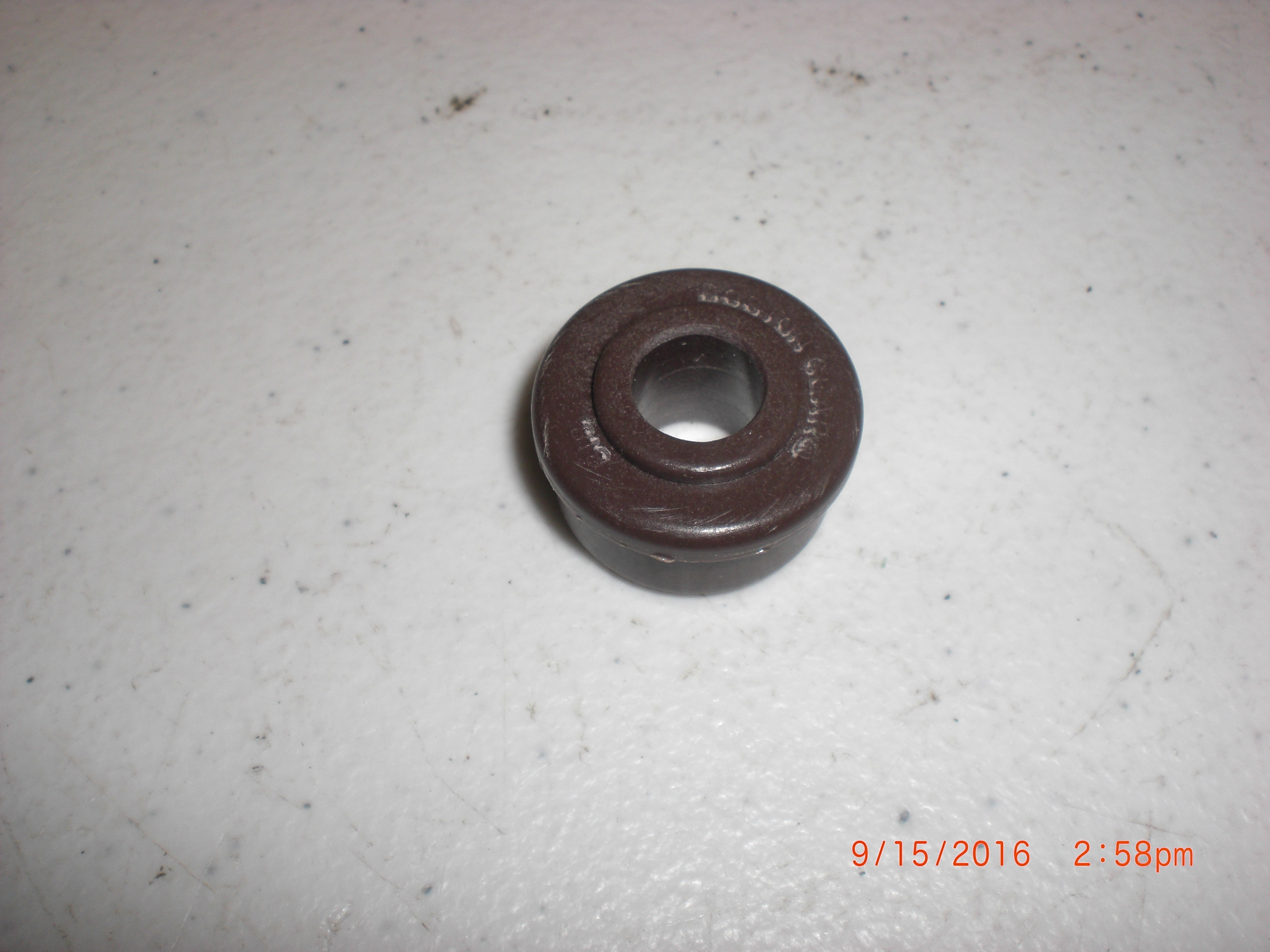 Bearing GREAR NUT 1/4IN Brown PLASTICQ BOSTON GEAR 818