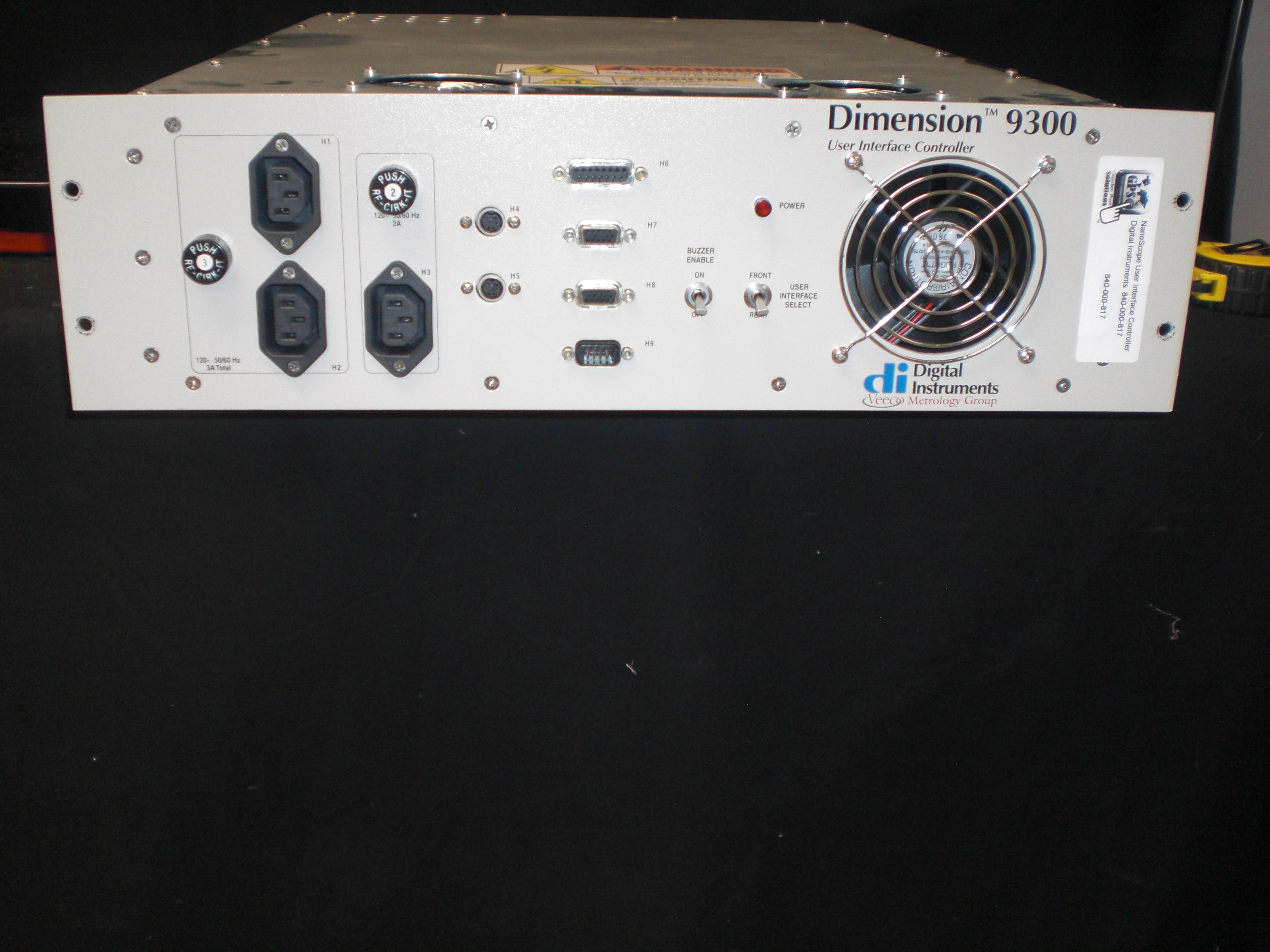 Controller Veeco 840-000-817 Dimension 9300 User Interface Controller  Digital Instruments