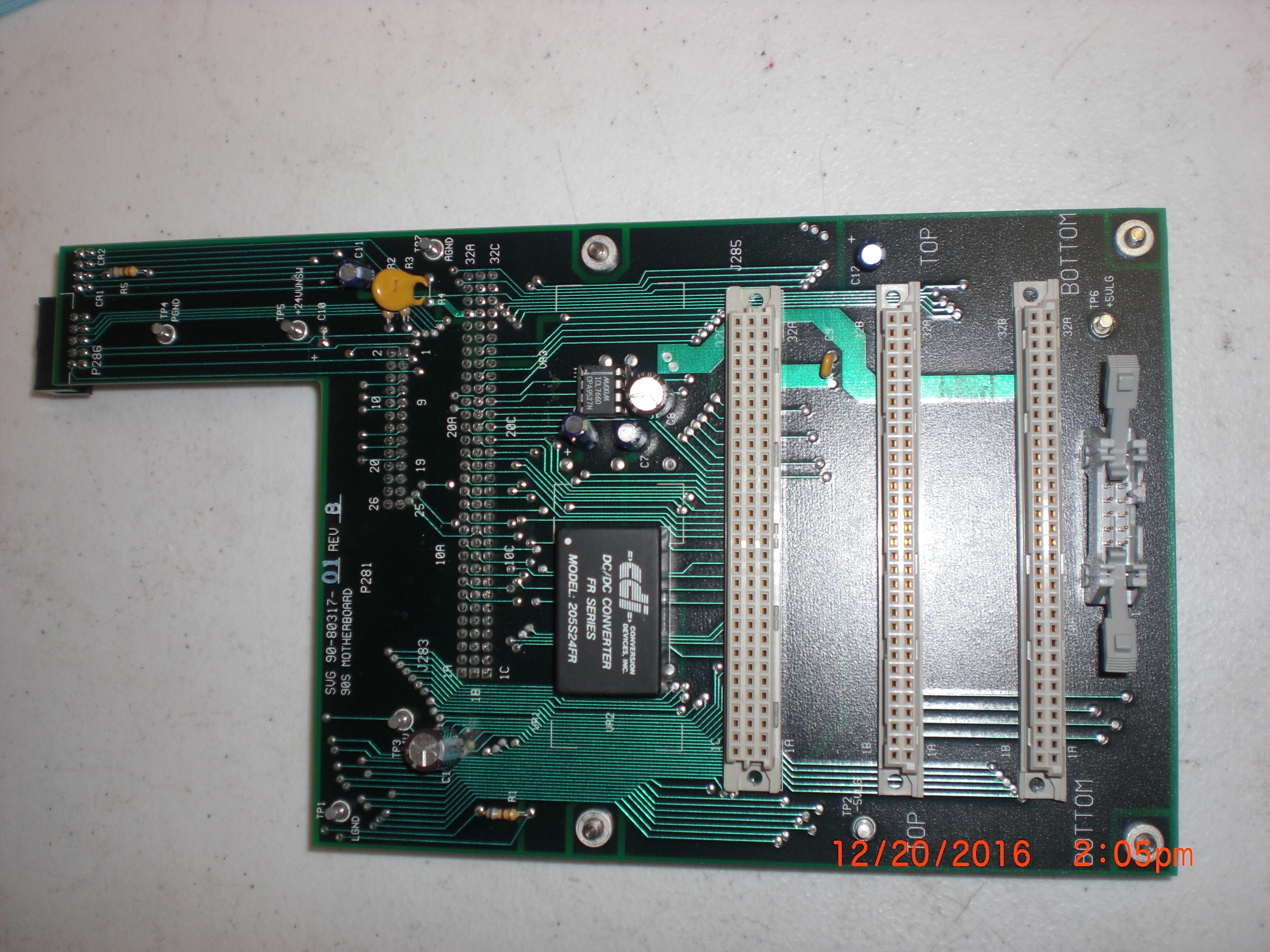 PCB 90S Mother Board SVG Lithography  90-80317-01