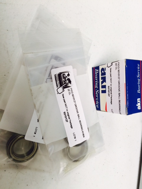 Bearing Grooved Ball  (2 PKG) AKN FICO 9210127