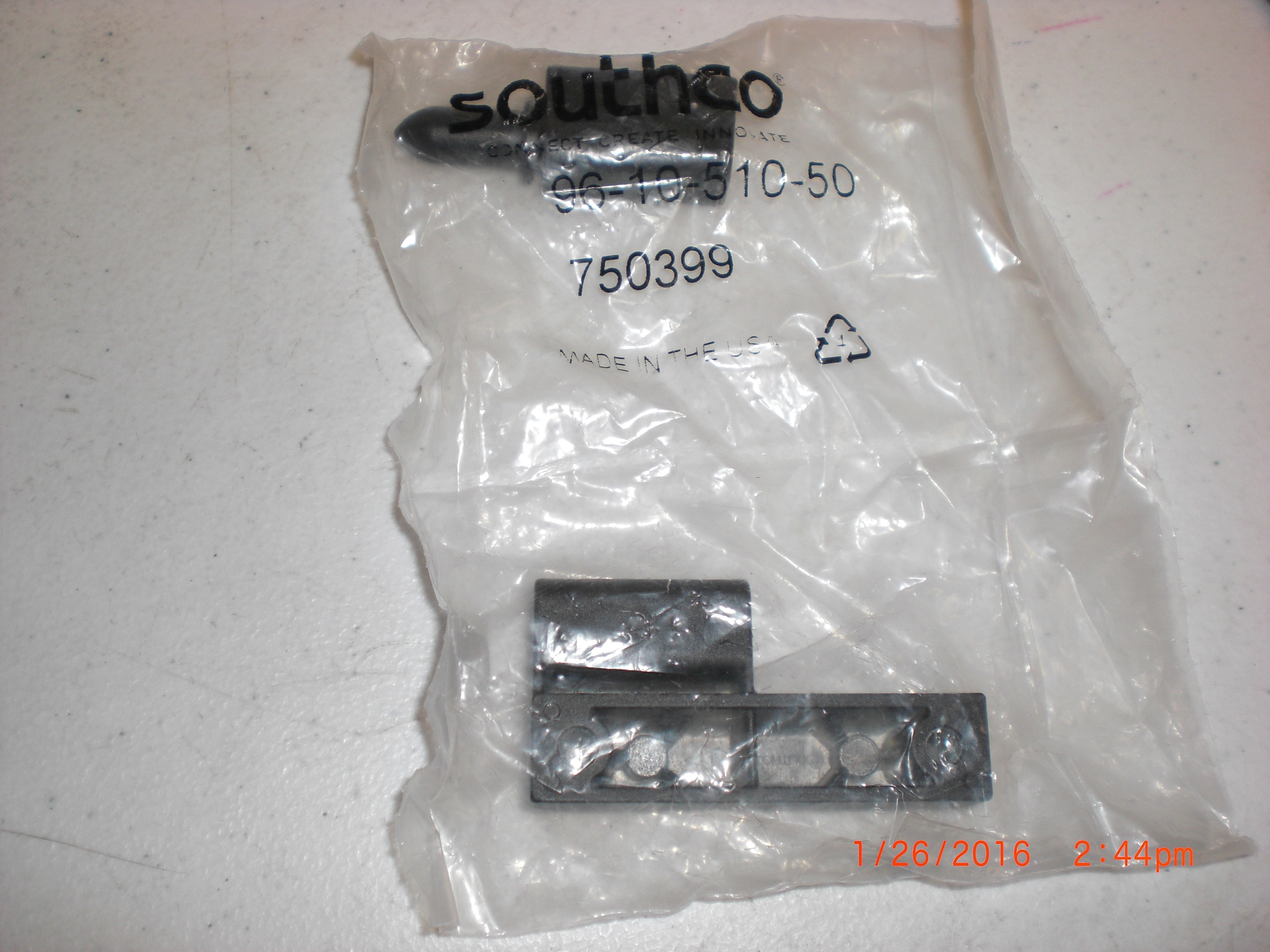 Hardware Offset Lift-Off Hinge Inch, Offset Type A SOUTHCO 96-10-510-50