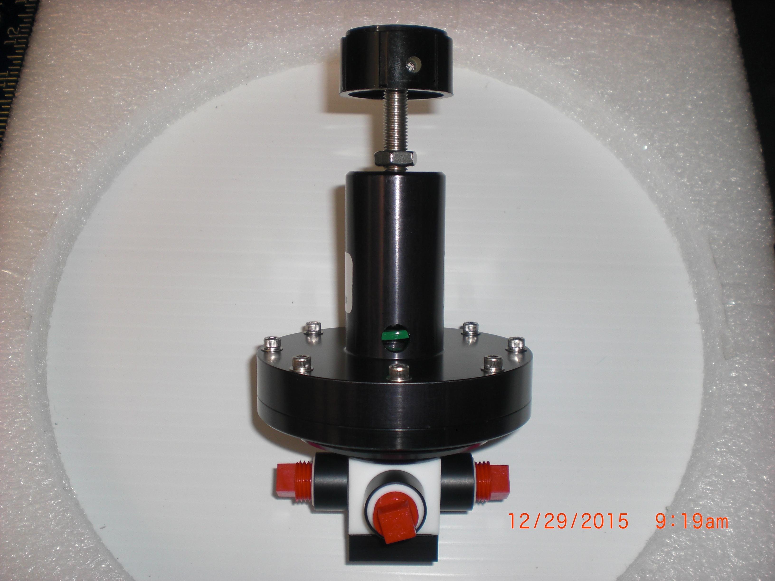 Regulator ENTEGRIS 972-11404-21   Teflon 0-30 PSI  1/4 FPT