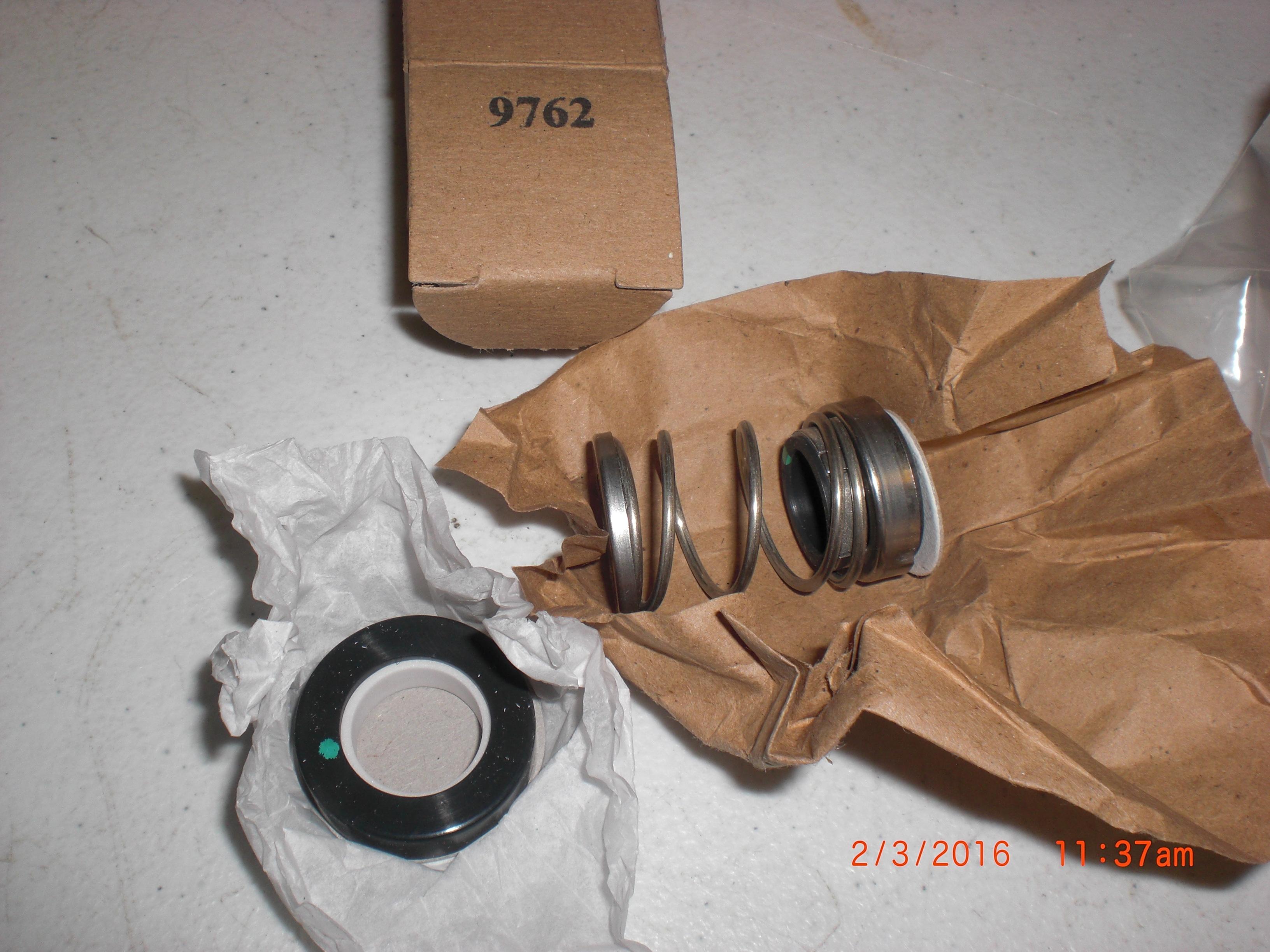 Seal Pump Agents  9762-1 shaft Seal 0.625 Vition Pump-Mechanical