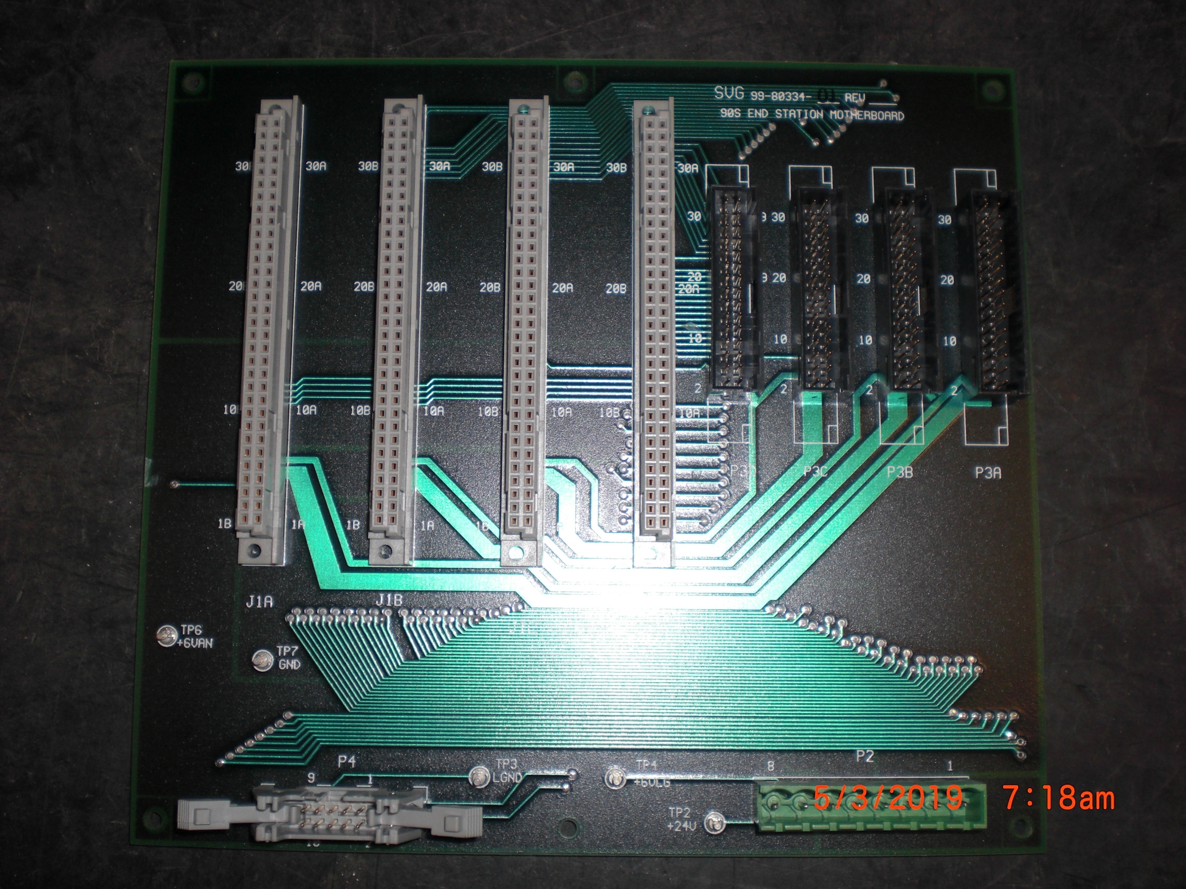 PCB SVG 99-80334-01 End Station Motherboard