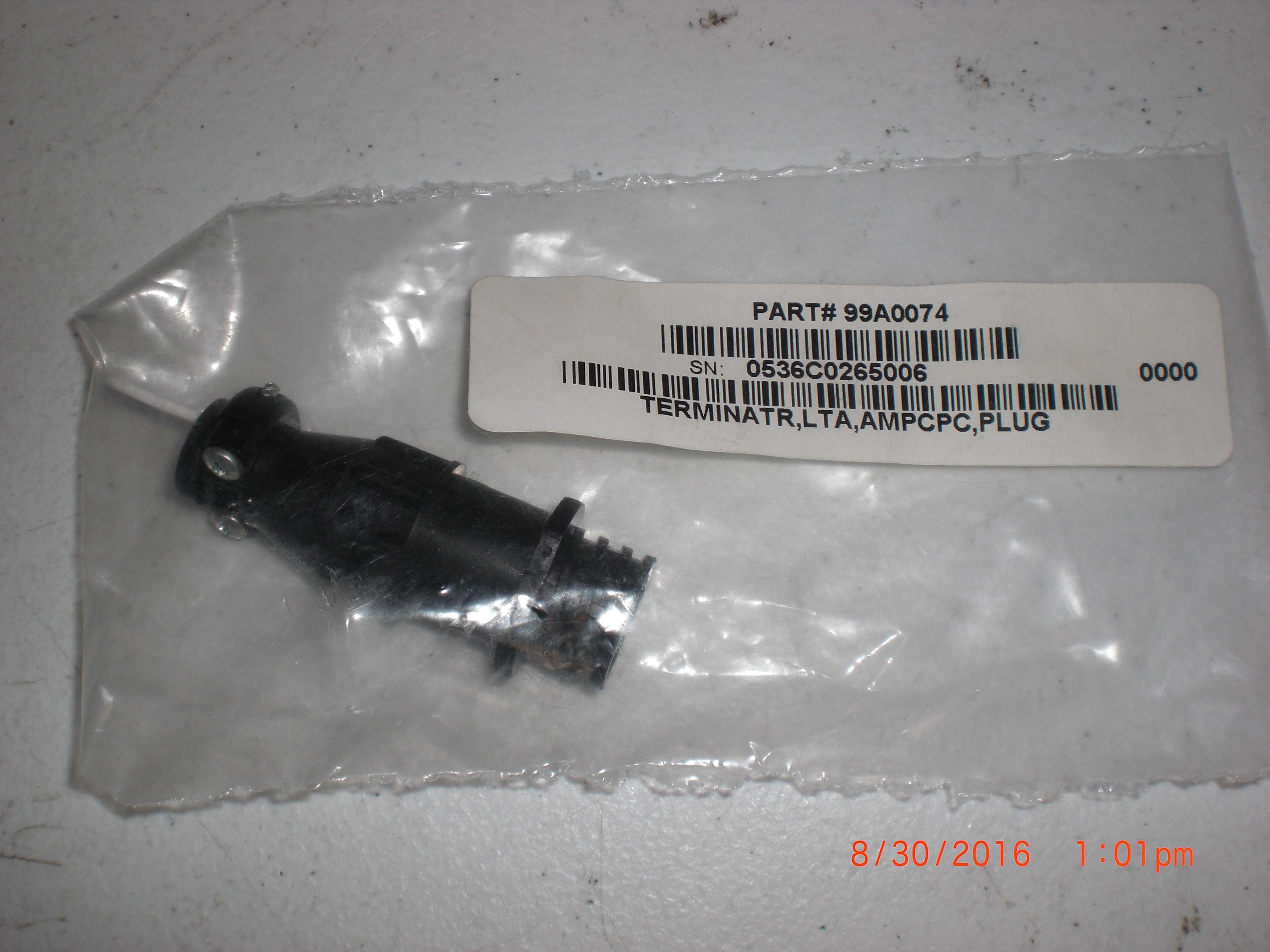 Heater MKS / HPS 99A0074 Teminator LTA AMPCPC Plug