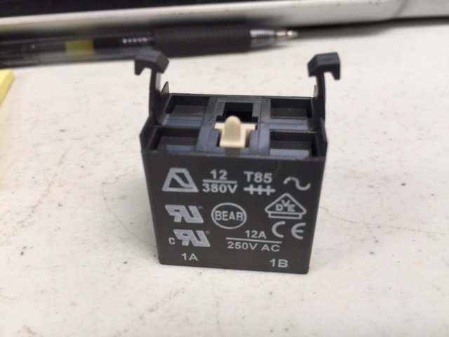Cable BEABA A02501 SWITCH BLOCK, PUSH BUTTON, A02 SERIES