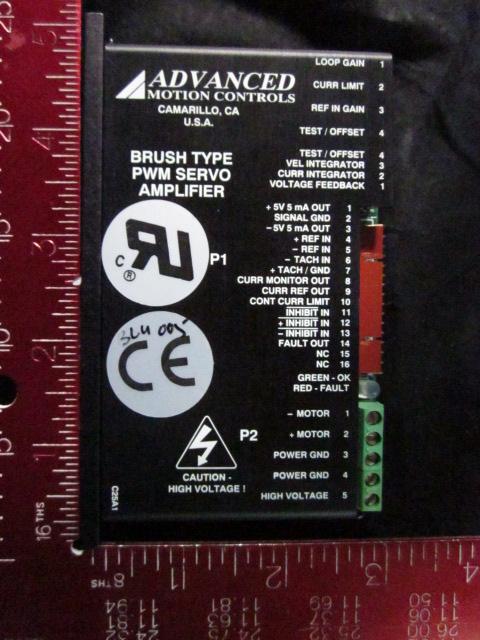 Amplifier ADVANCED MOTION 14255-0058 FAP DC   Schlumberger Systems A3354508000