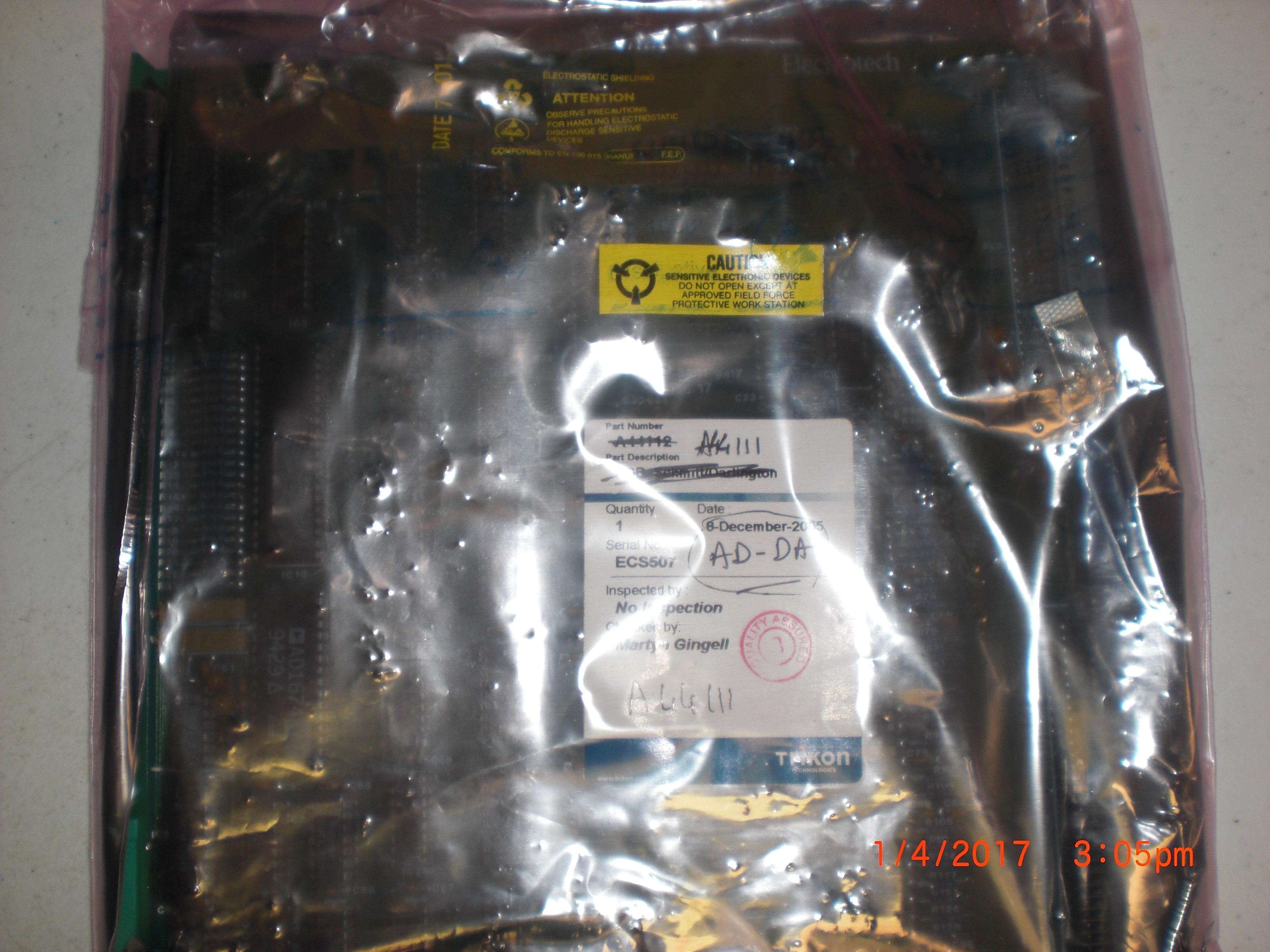 PCB AD-DA Board Aviza A44111 PCB