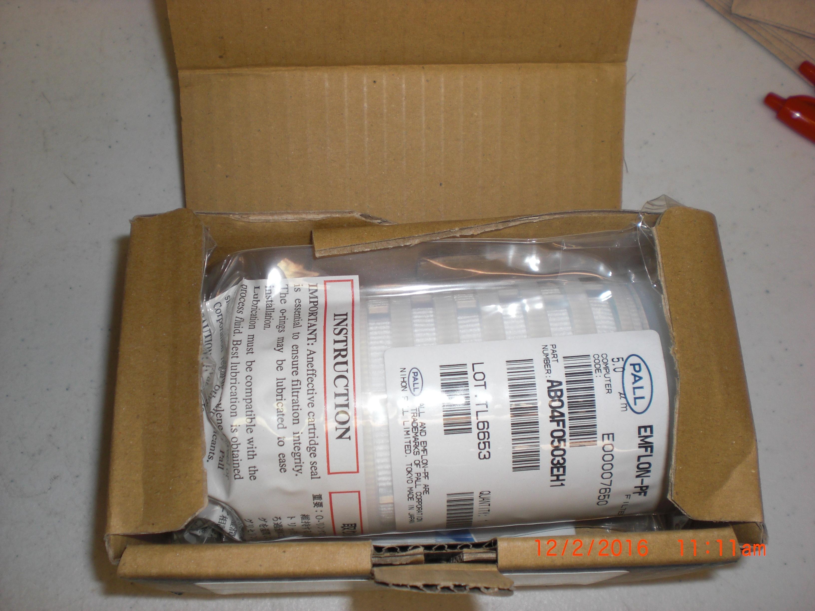 Filter  Emflon-PF 5um PFA PALL AB04F1003EH1