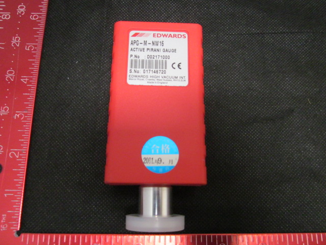 Gauge BOC Edwards APG-M-NW16 Active Pirani