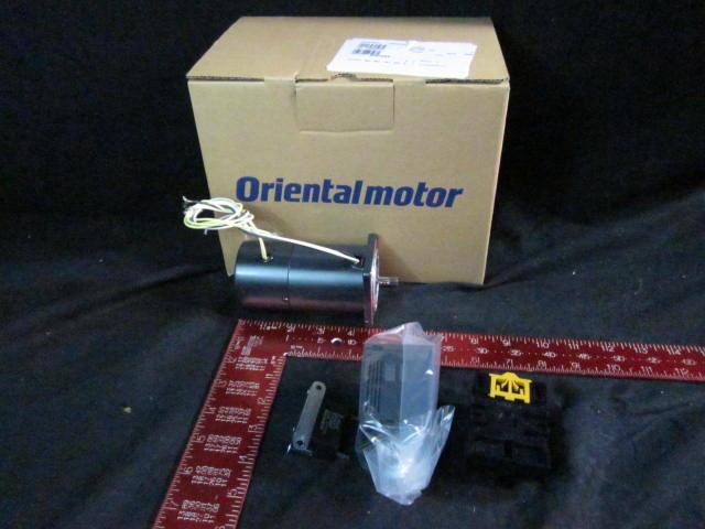 Motor  ORIENTAL MOTOR BMR206-412 with brake , 6W, 200V, 0.2A 1200/1500r/min