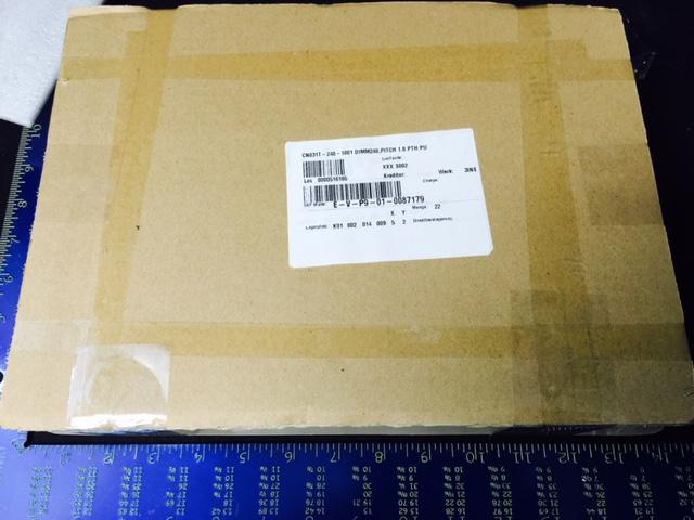 Memory  LOTES CN031T-240-1001 DIMM240, PITCH 1.0 PTH PU (22 PKG)