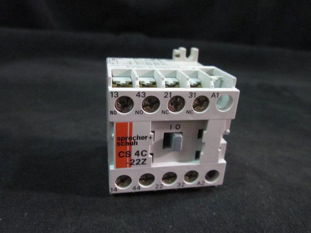 Electrical SPRECHER SCHUH CS4C-22Z RELAY CONTROL MINI 2NO 2NC 24VDC