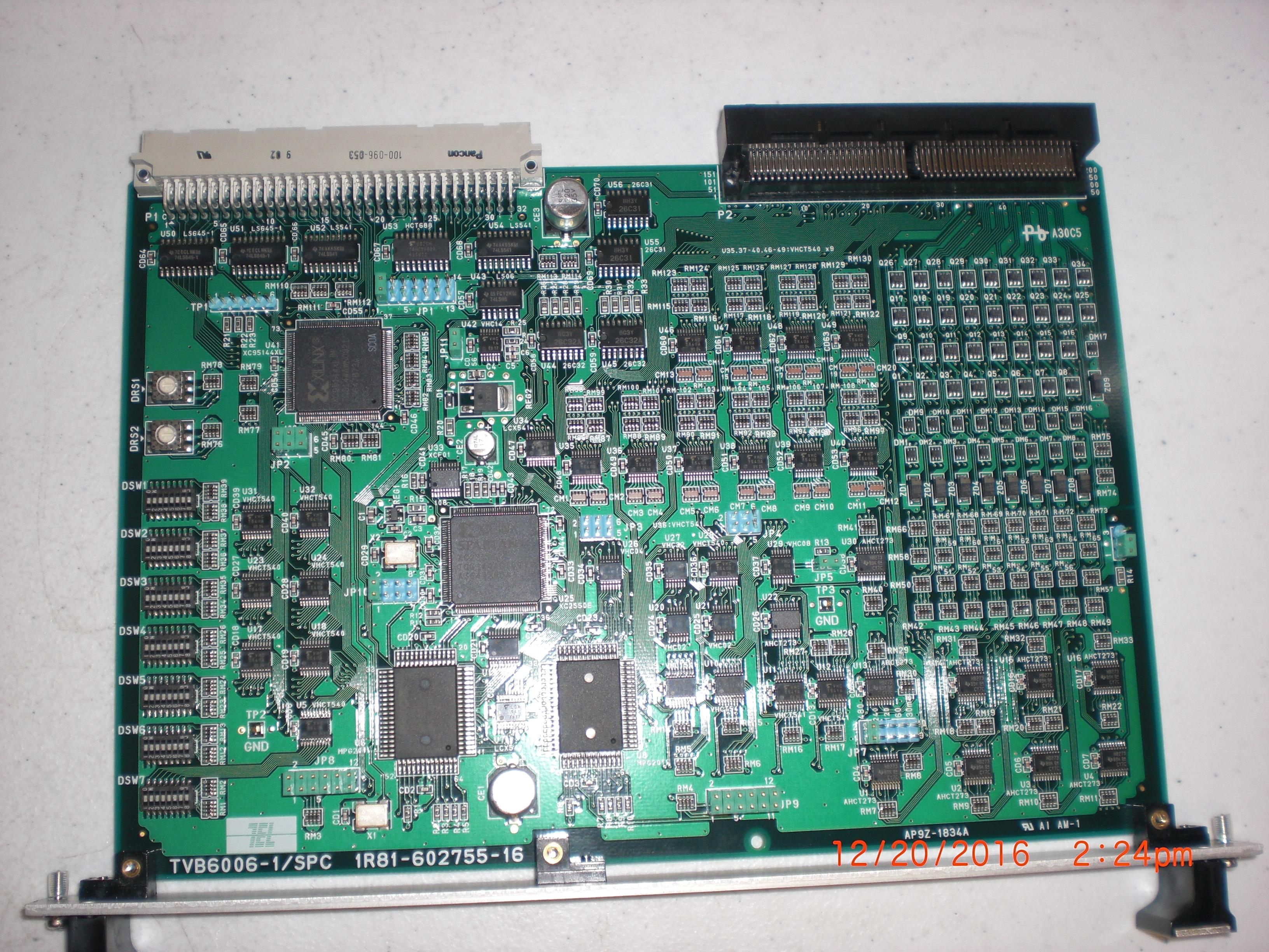 PCB TVB006-1/SPC Board (TEL) CT1R81-602755-16