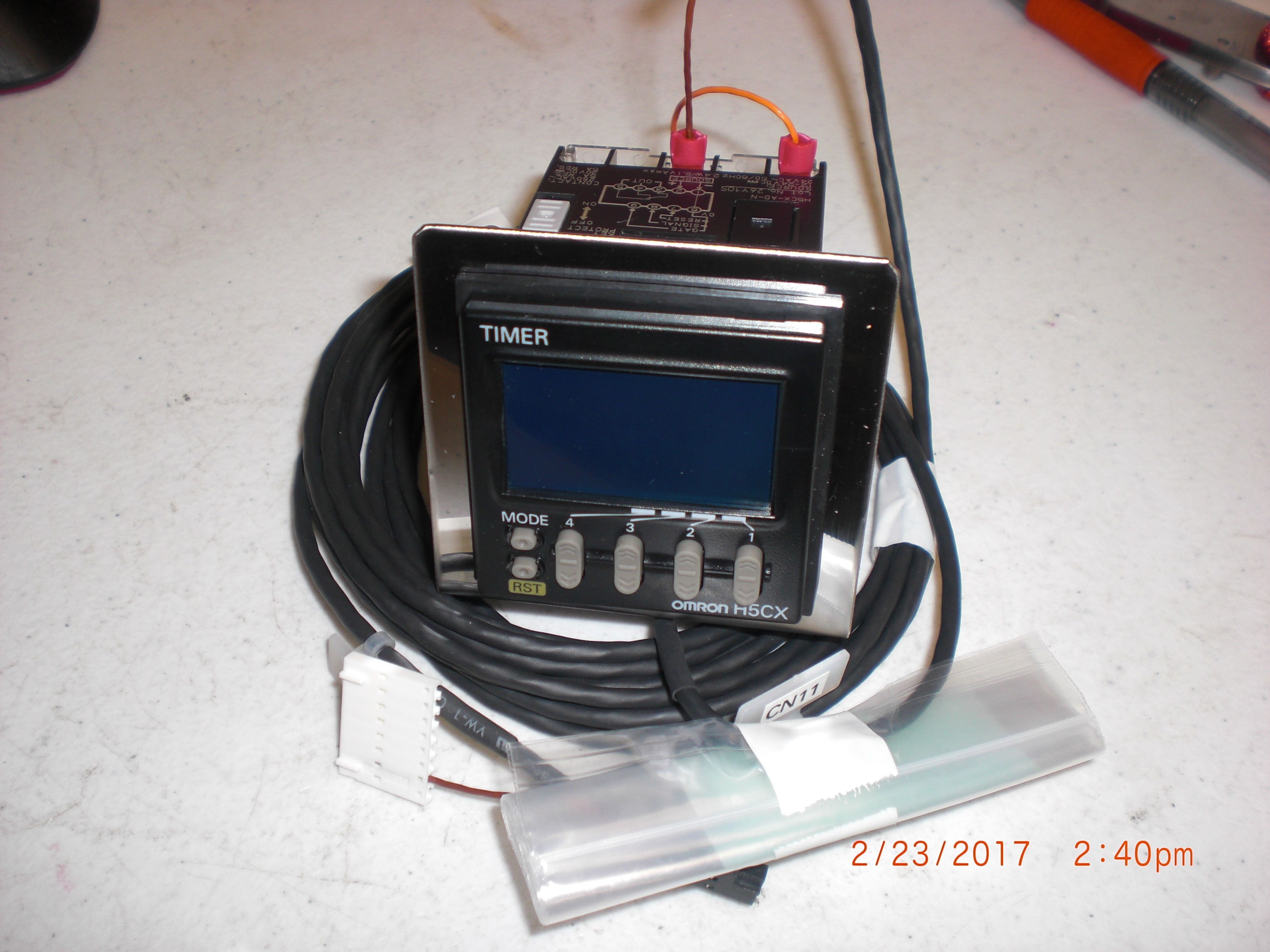 Relay Timer  OMRON H5CX  (TEL) CT2986-403268-14