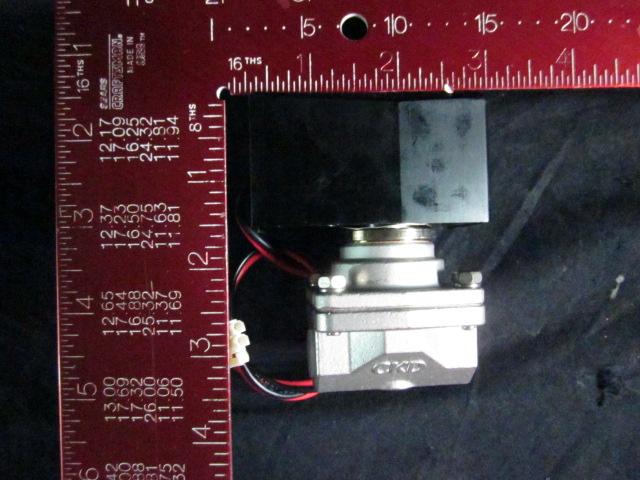 Valve CKD A2-3172-1 ADVANTEST DEE-002746-1 Soliniod VALVE SSA2-3172, LN2:0.8, B.FORCE:12, PIPE:Rc1/4, DC24V