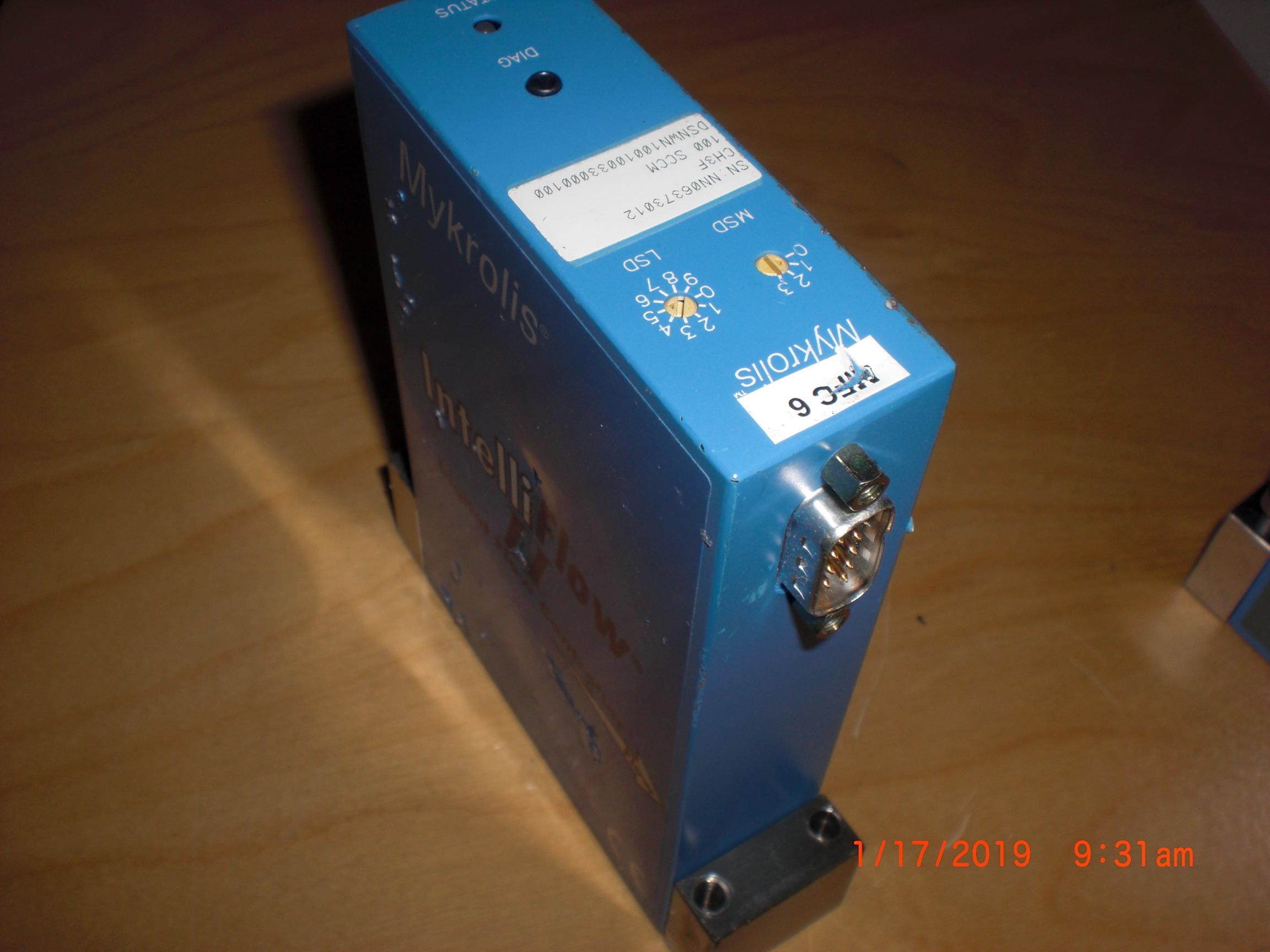 MFC MYKROLIS - CELERITY DSPWN100-CHF3-100sccm IntelliFlow II