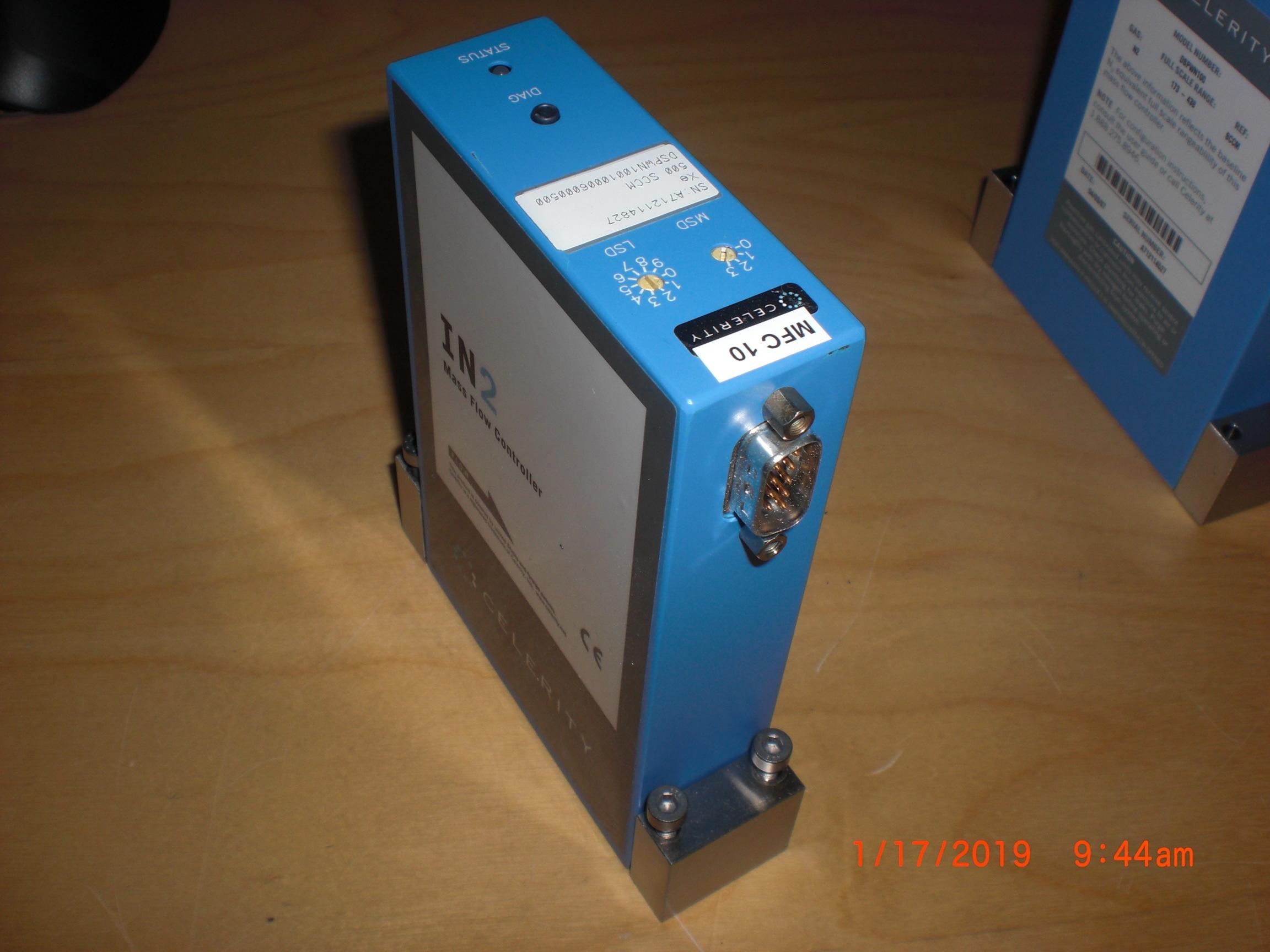 MFC MYKROLIS - CELERITY DSPWN100-Xe-500sccm IntelliFlow II