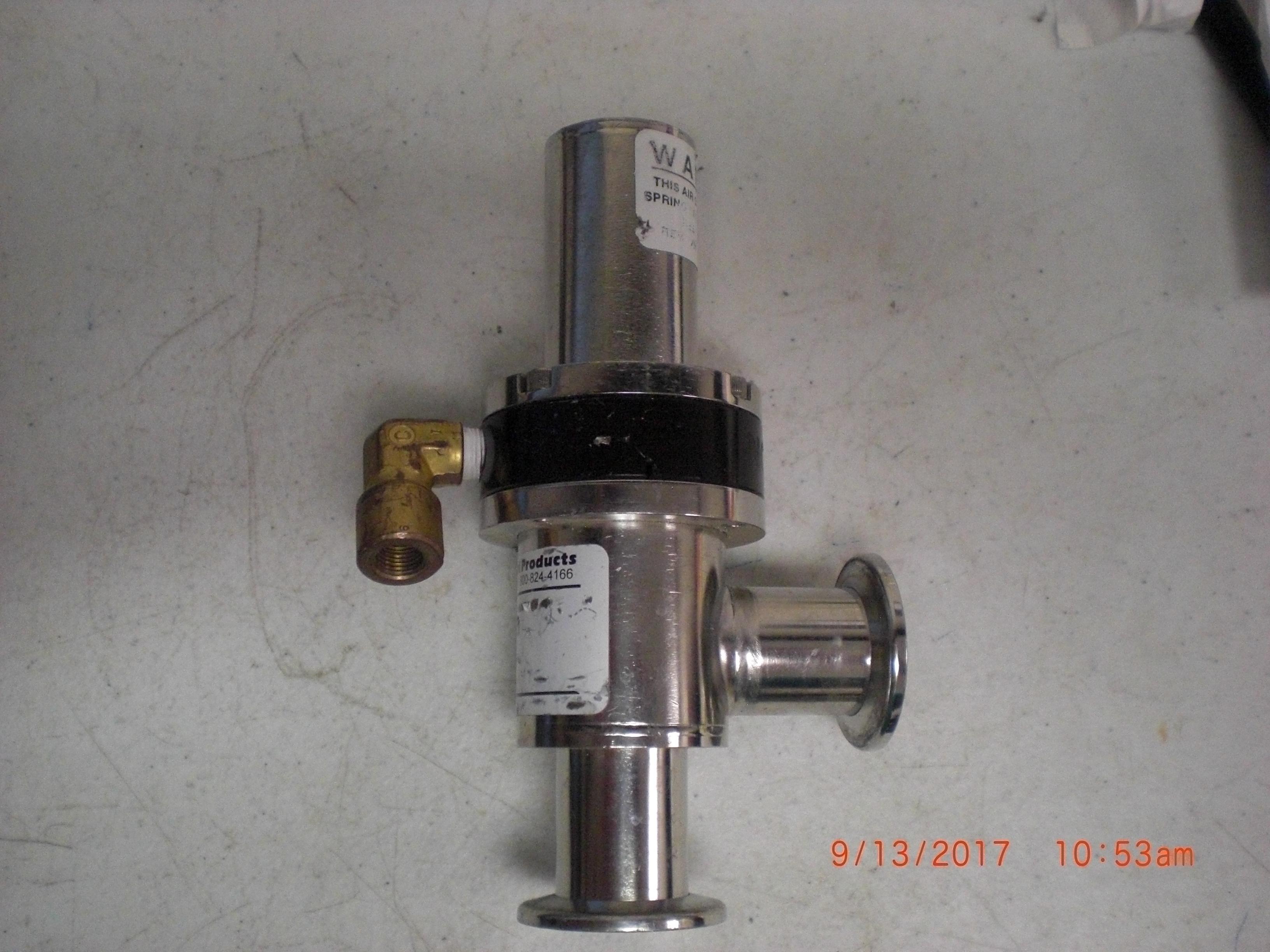 Valve Nor-Cal ESVP-1002-NWB Bellows right angle KF25 Pneumatic