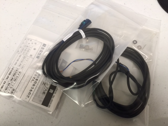 Sensor PHOTOMICROSENSOR, THRU-BEAM, EX13B, MTE 4M, L=0.08