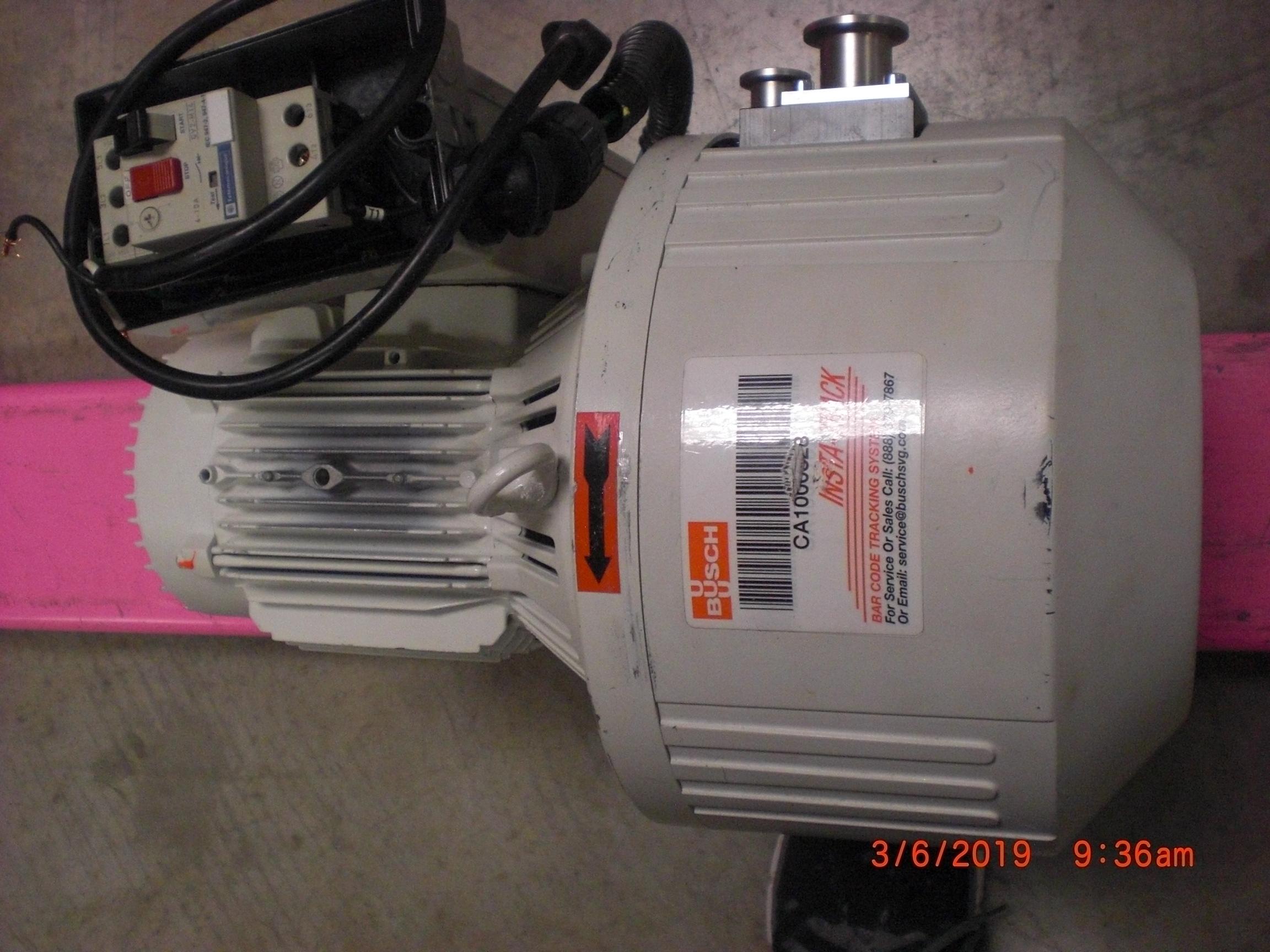Pump Busch F0-0018 Fossa-18 Scroll Dry Vacuum