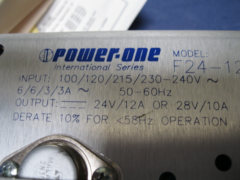Power Supply  24V/12A or 28V/10A CONDOR F24-12-A+ Power-One