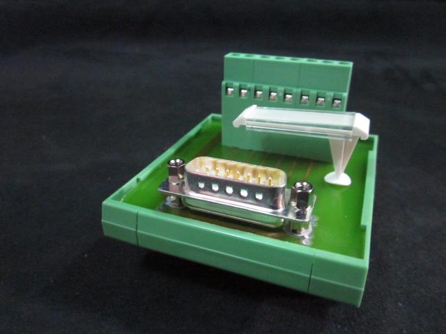 PCB 15-Pin D-Sub Breakout  PHOENIX CONTACT FLKM-D15-SUB-S
