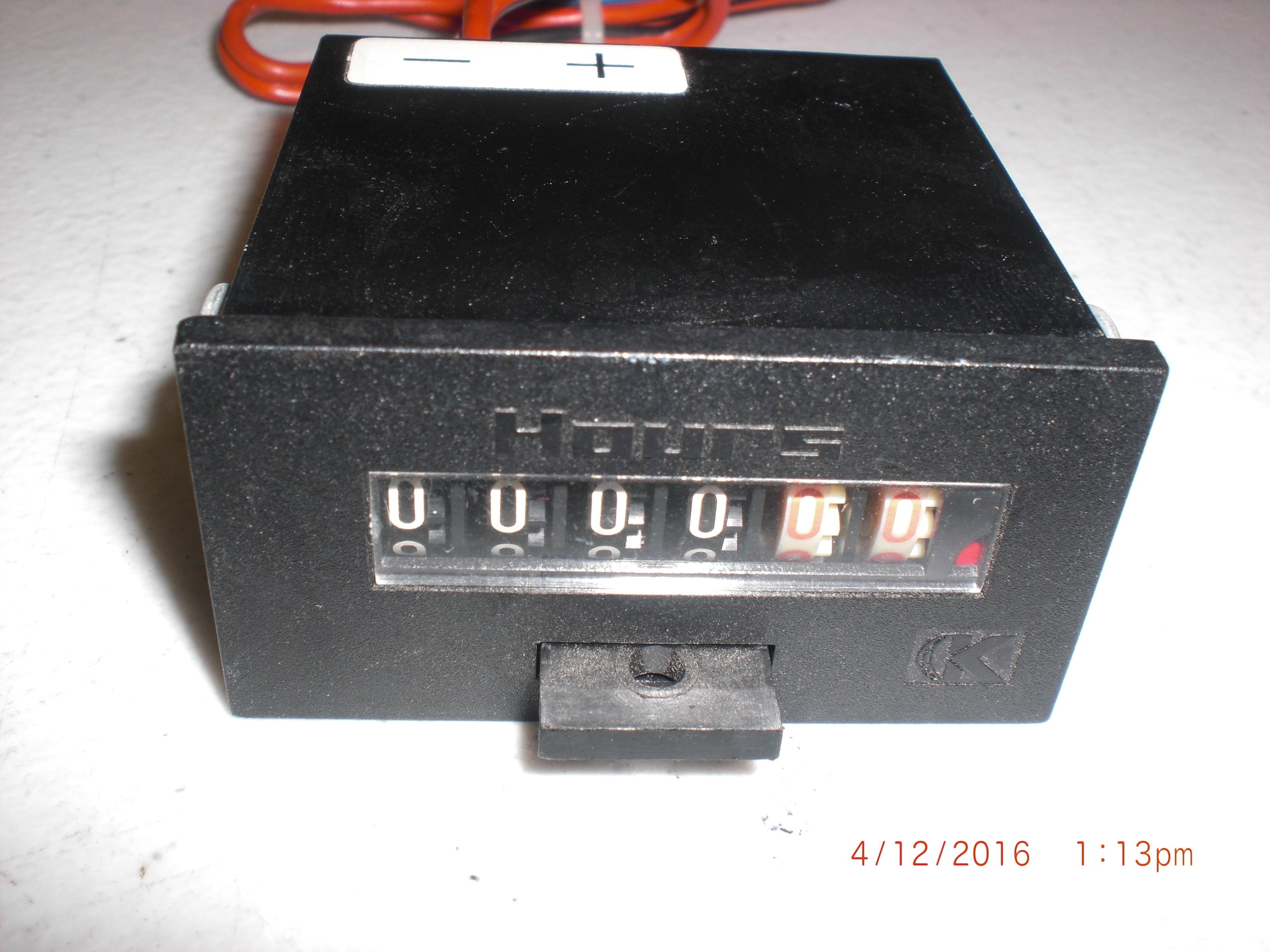 Meter  Kessler-Elis HB123/HB1621 Hour Meter 24VDC