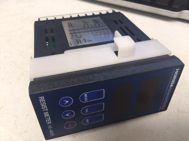 Meter  HORIBA ADVANCED TECHNO CO LTD HE-480R RESIST METER  E-FLOW