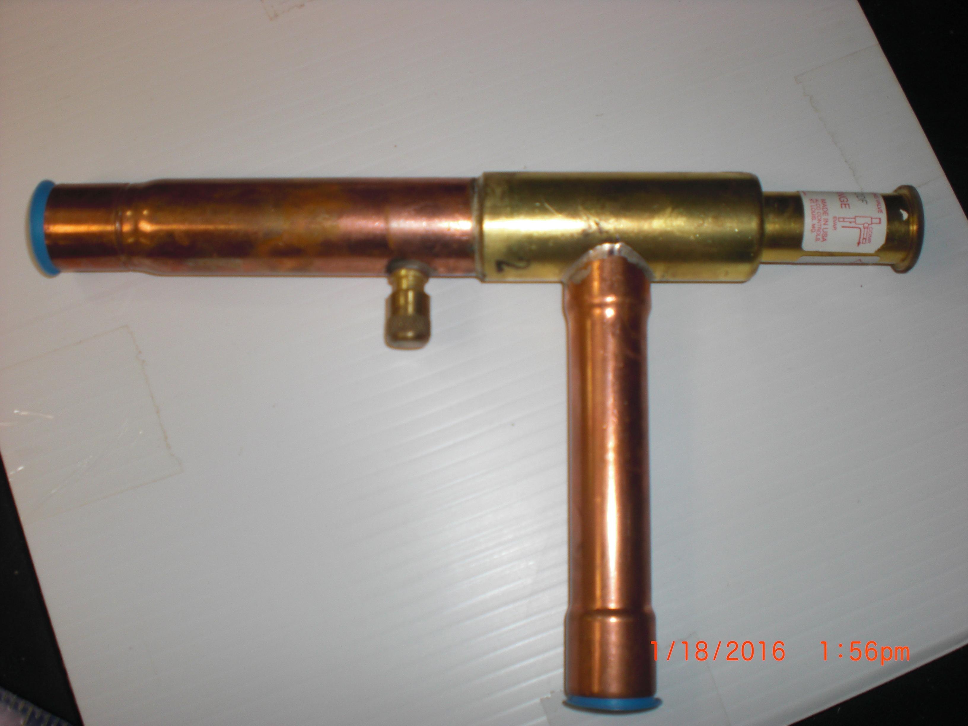 Valve ALCO IPR-6 Evaporator Pressure regulating valve  30-100 range 7/8 ODF