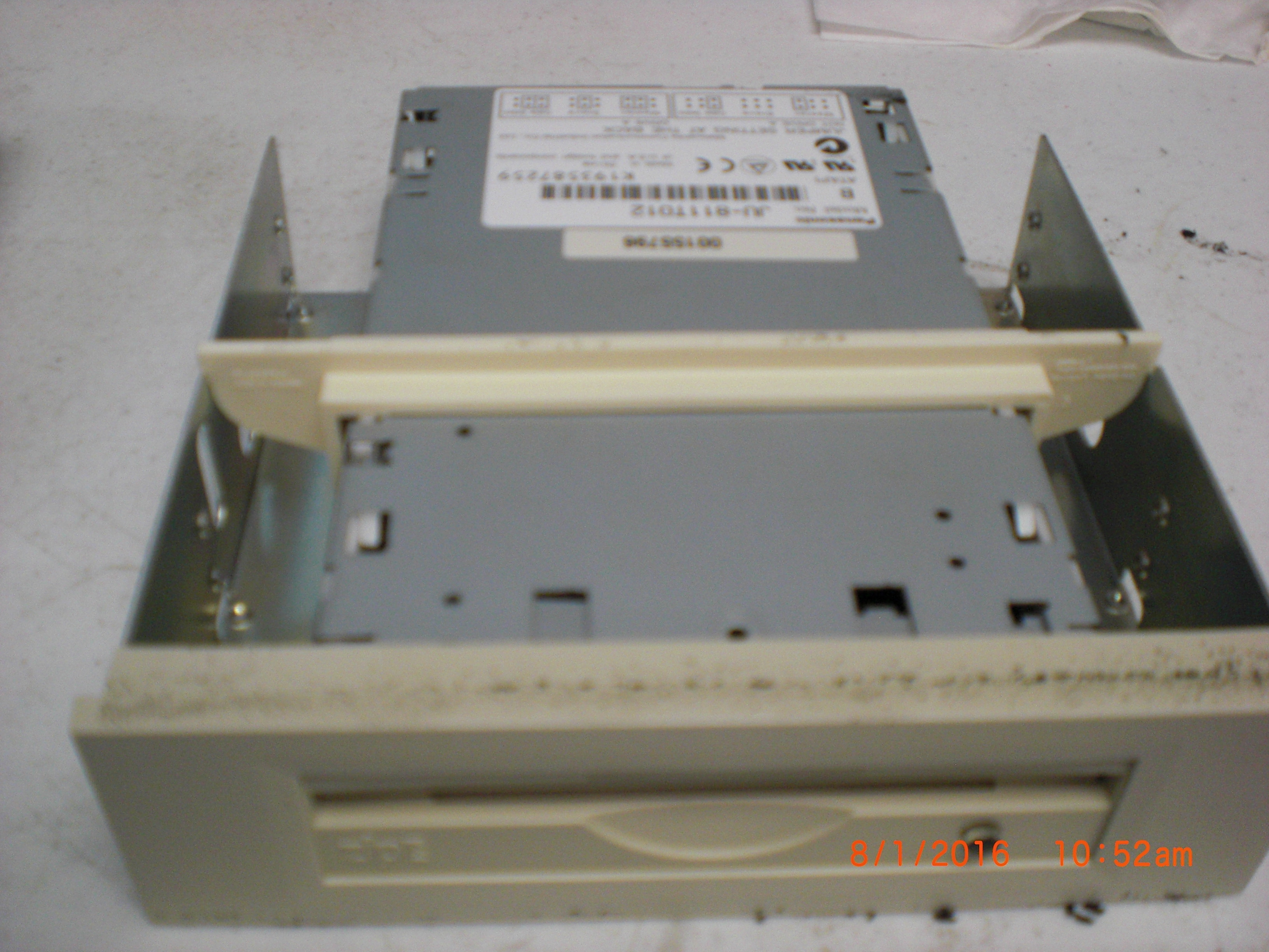 Computer Accessory PANASONIC JU-811T012 Internal 100  Zip Drive IDE