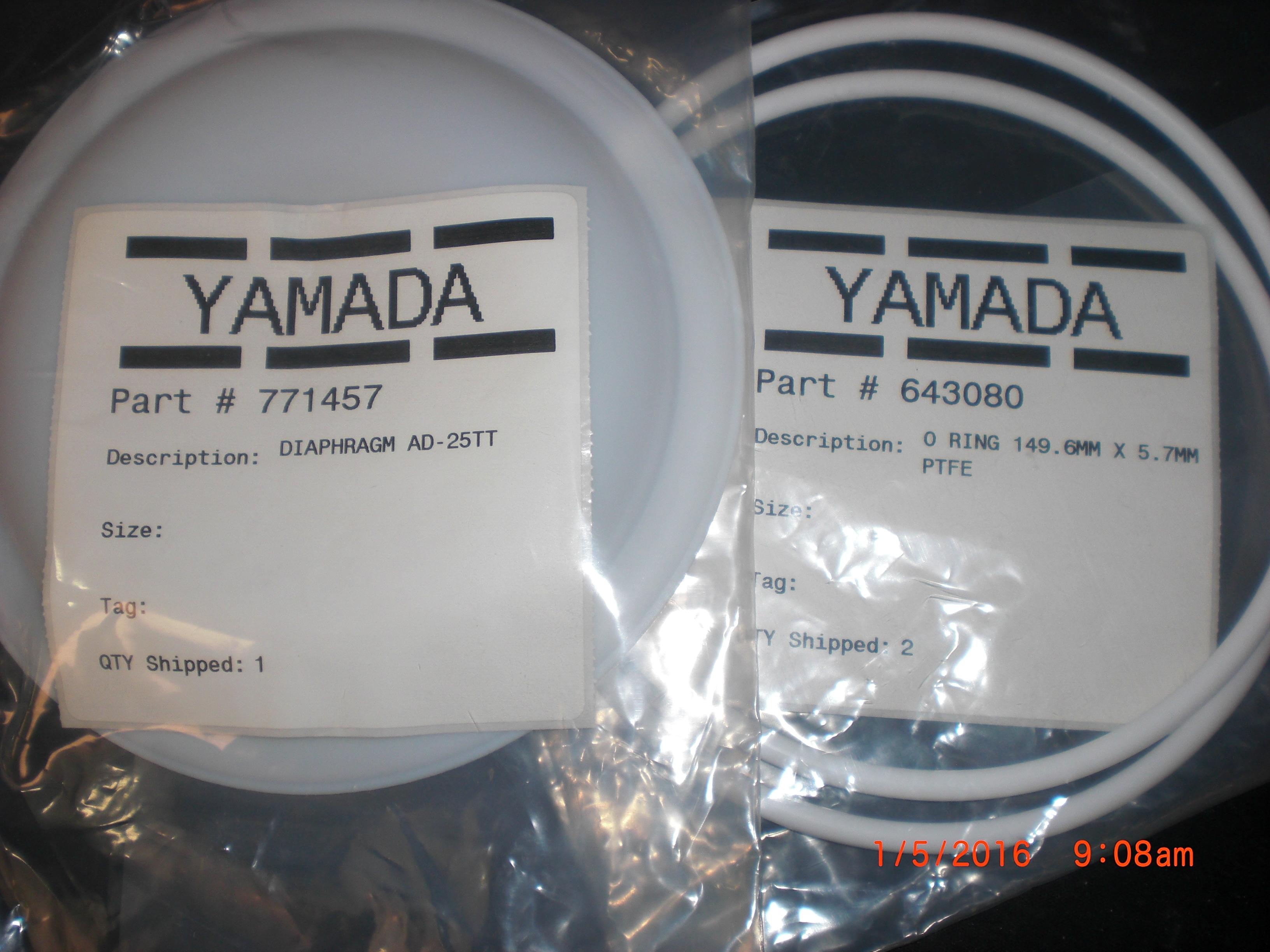 Pump yamada k25 tt rebuild kit pulse damper 1 771457 diaphragm pump yamada k25 tt rebuild kit pulse damper ccuart Gallery